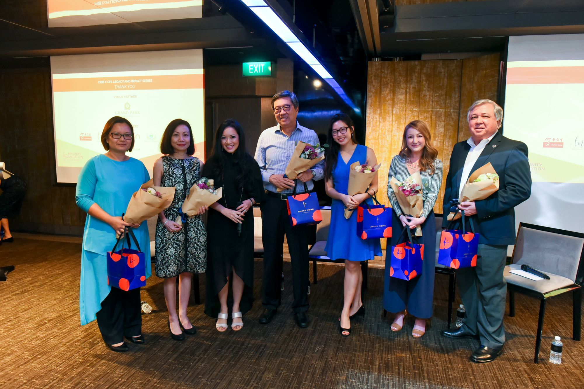 Patsian Low, Catherine Loh, Elaine Kim, Richard Eu, Rebecca Eu, Sharon Chua, Keith Chua