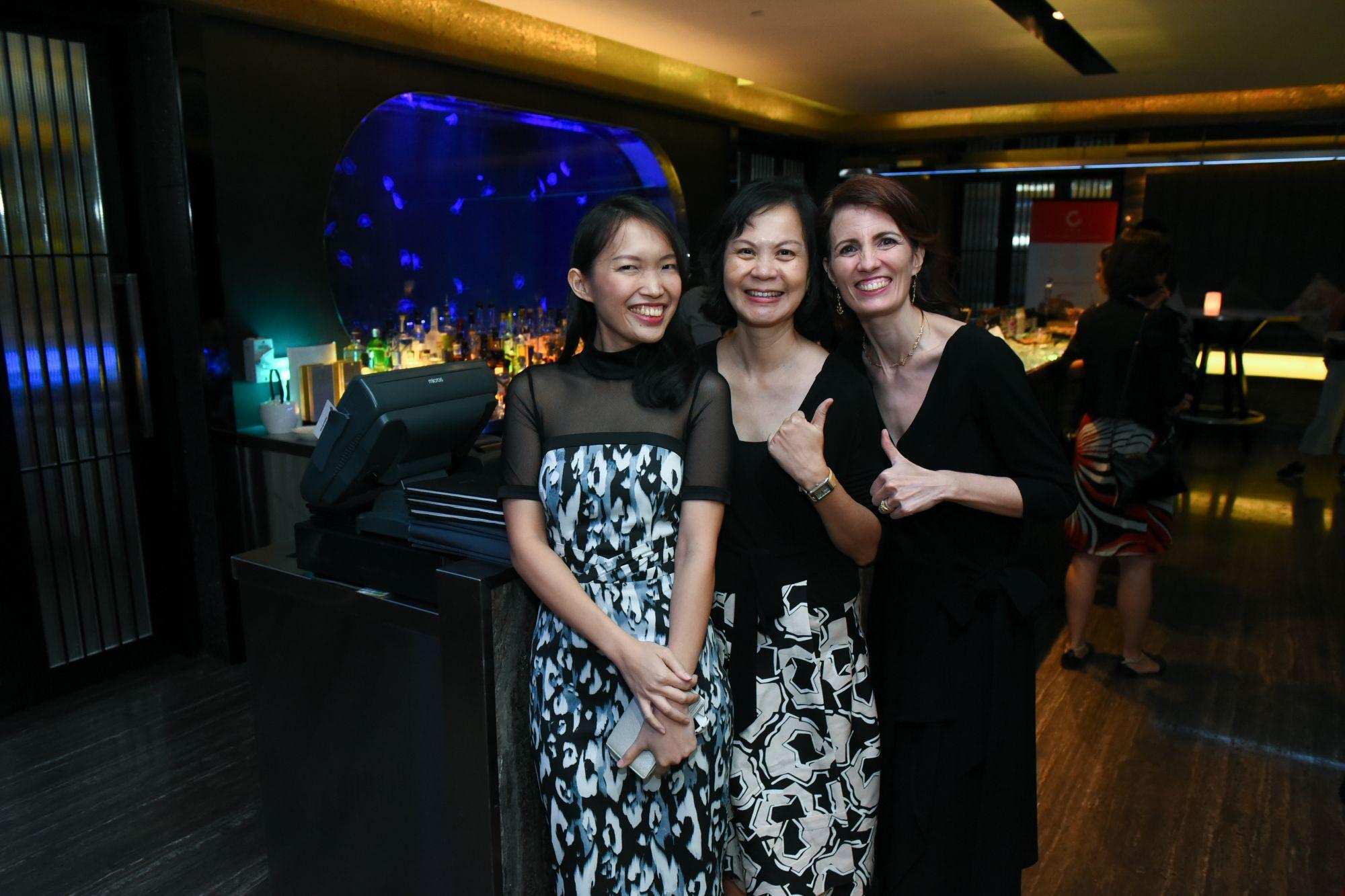 Cheryl Chung, Yee Foong, Anne Marie Clavelli