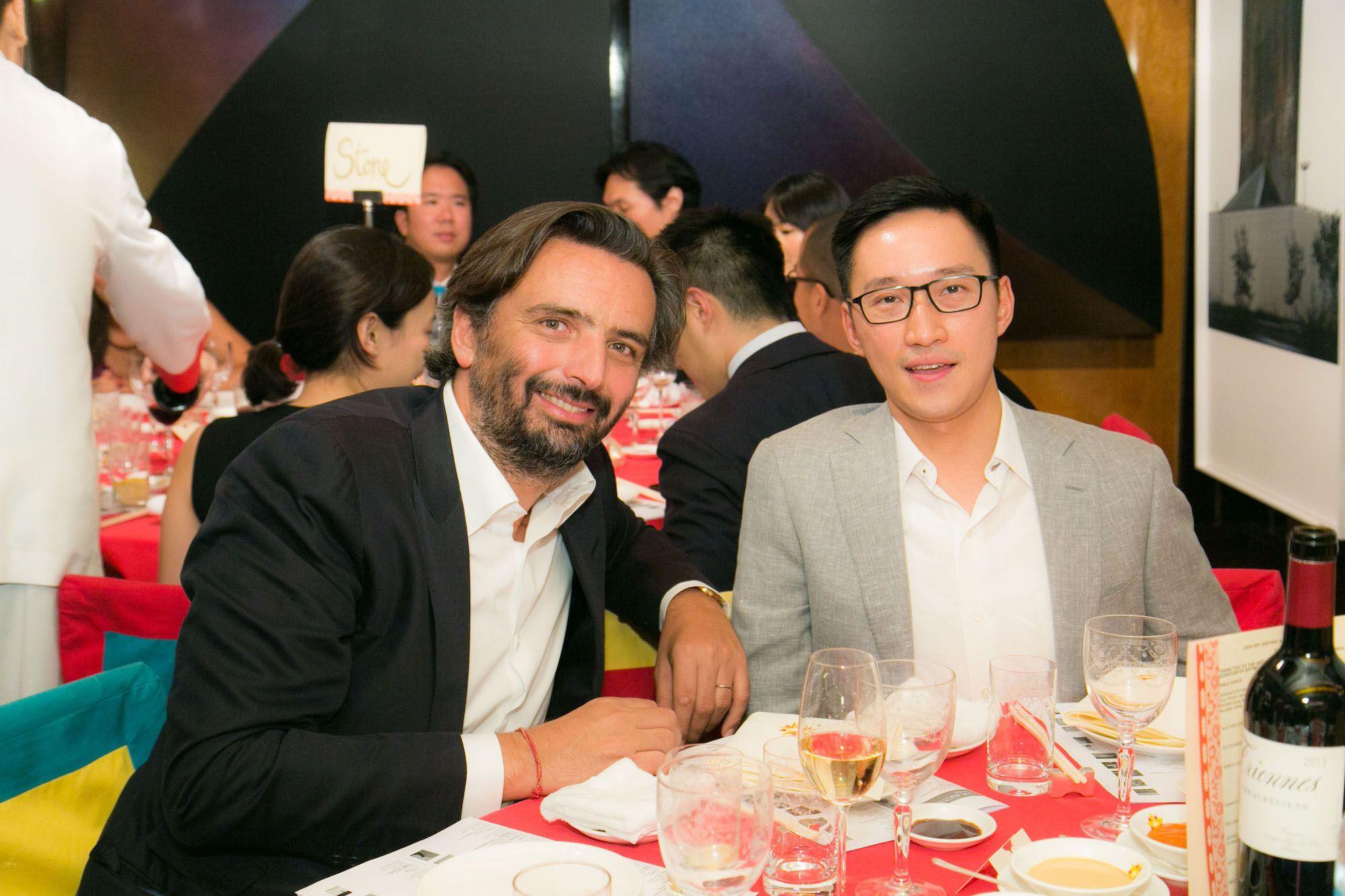 Benjamin Vuchot, Evan Chow