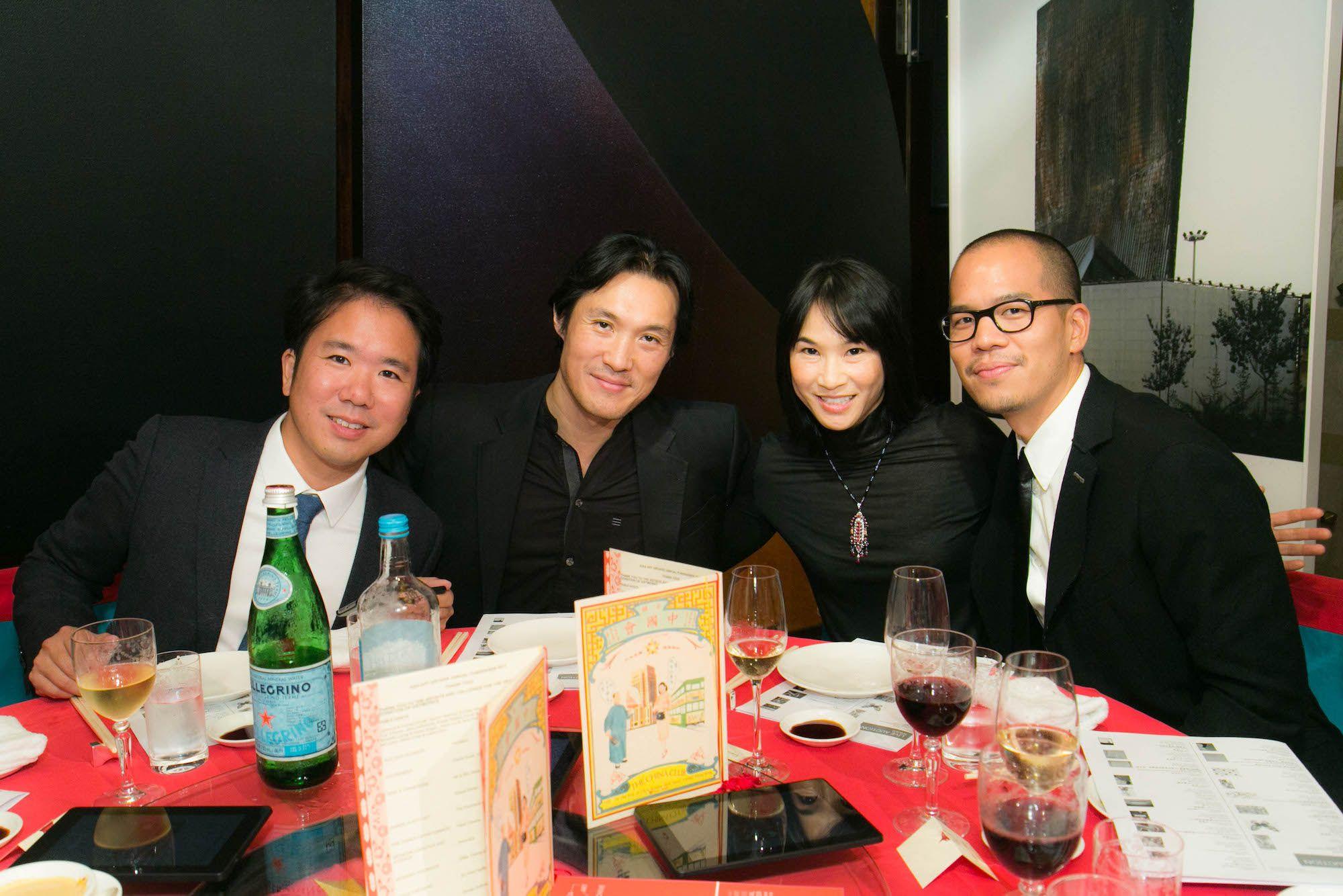 Kenzo Watari, Hing Chao, Vicentia Chao, Stephen Cheng