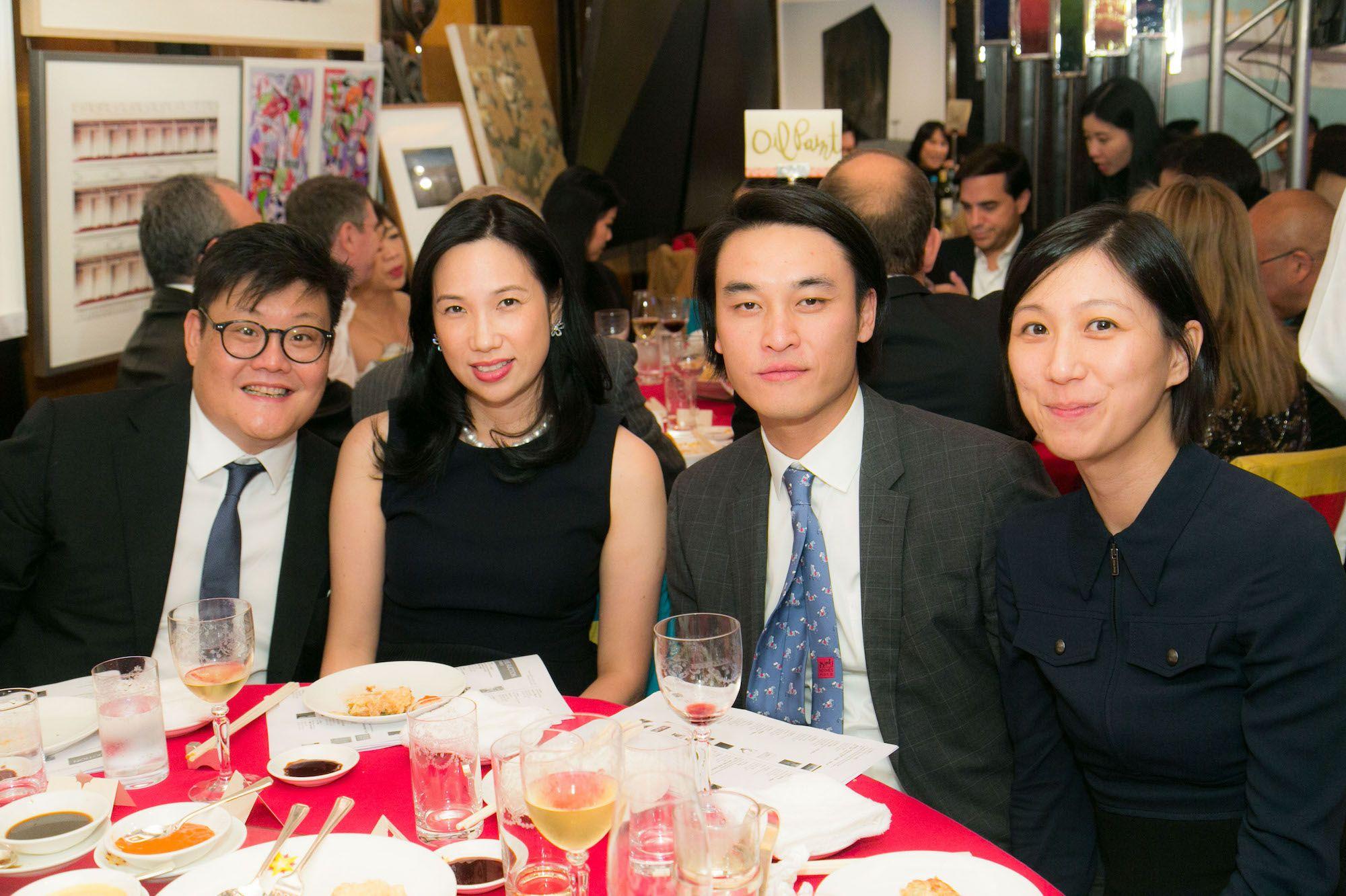 Stephen King, Diana King, Allen Tsai, Lesley Ma