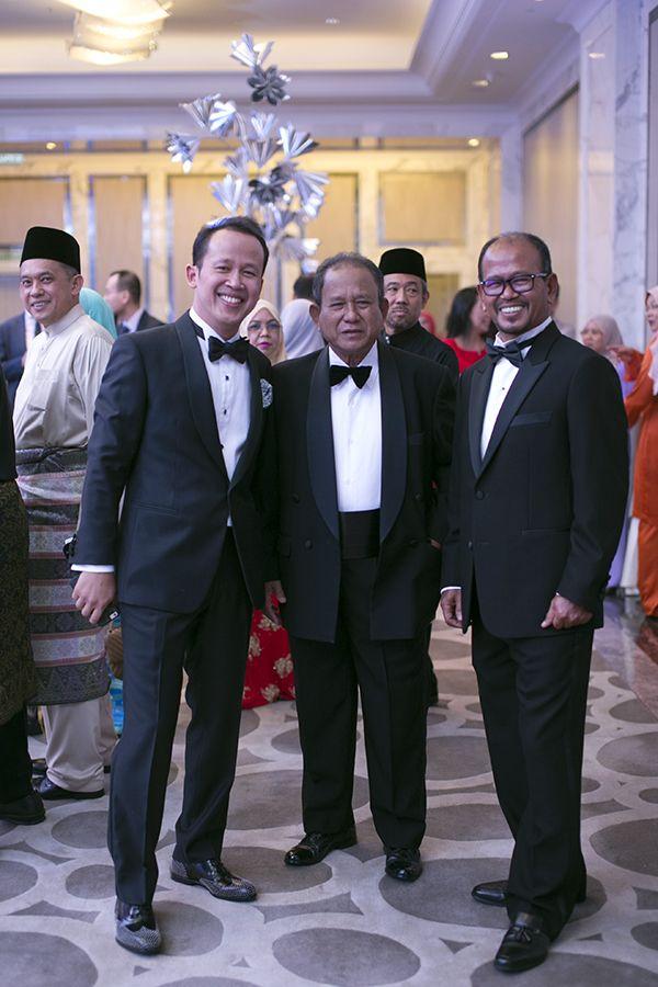 Dato' Abdul Rashid, Brig. Gen (R) Dato' Abd Rahman Jabir and Abd Hadi Jabir