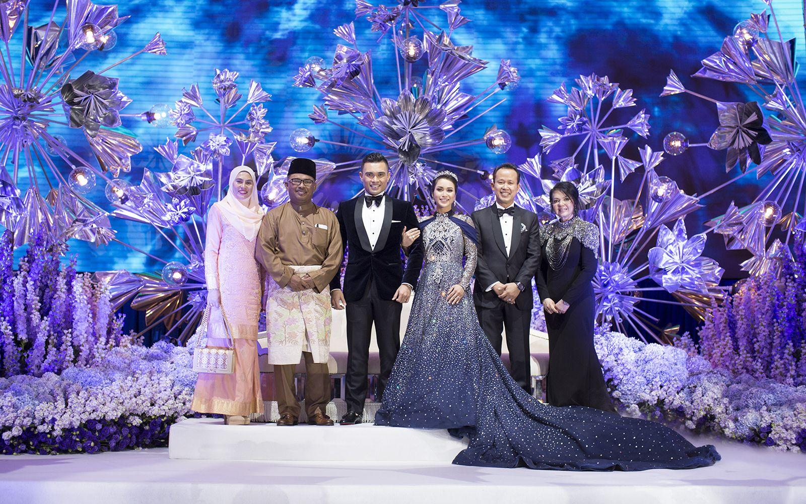 Datin Seri Fadillah Abdullah, Datuk Seri Utama Ir. Idris Haron, Dr Farid Razali, Dr Fazliana Abd Rashid, Dato' Abdul Rashid Jabir and Dato' Farisah Mohd Farid