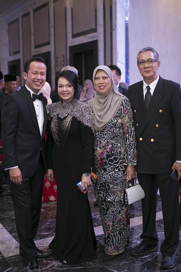 Dato' Abd Rashid Jabir, Dato' Farisah Mohd Farid, Norihan Ali Yusoff and Hashim Talib