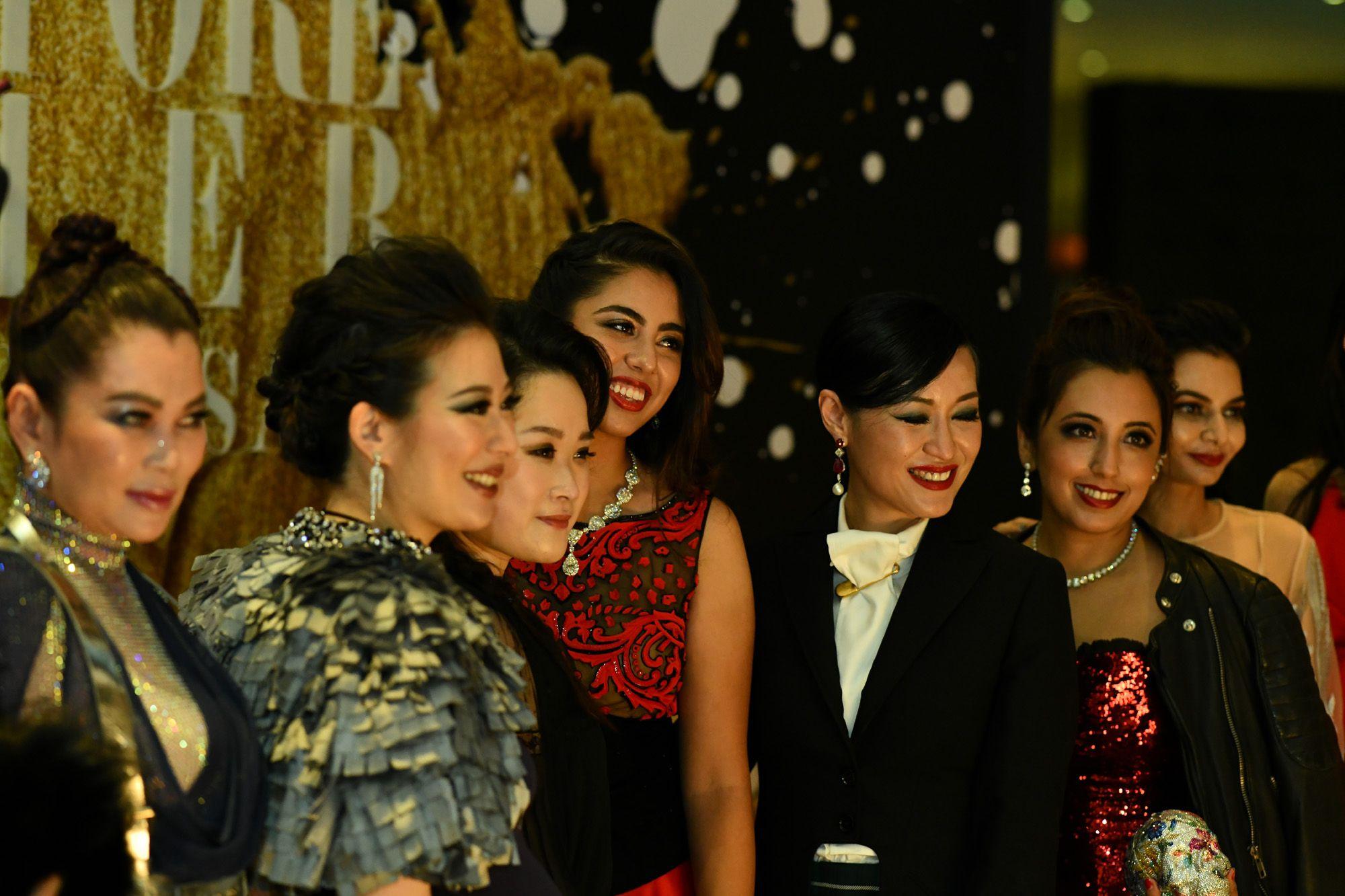 Susanna Kang, Stephanie Lee, Lam Tze Tze, Shaila Hiranandani, Nina Ng, Dimple Aswani, Shabnam Arashan