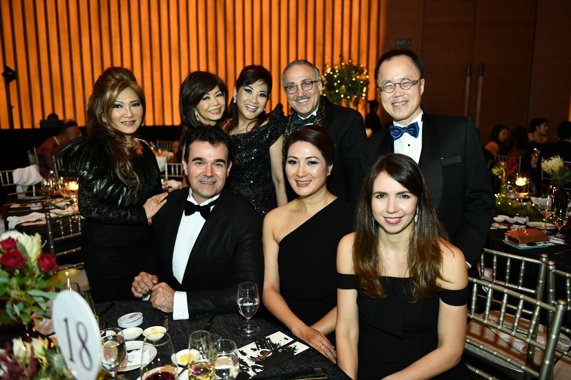 Audrey Mico, Dolly Cheong, Pauline Chan, Jean Nasr, Bernard Cheong, Ana Huang, Nana Au-Chua, Oscar Mico