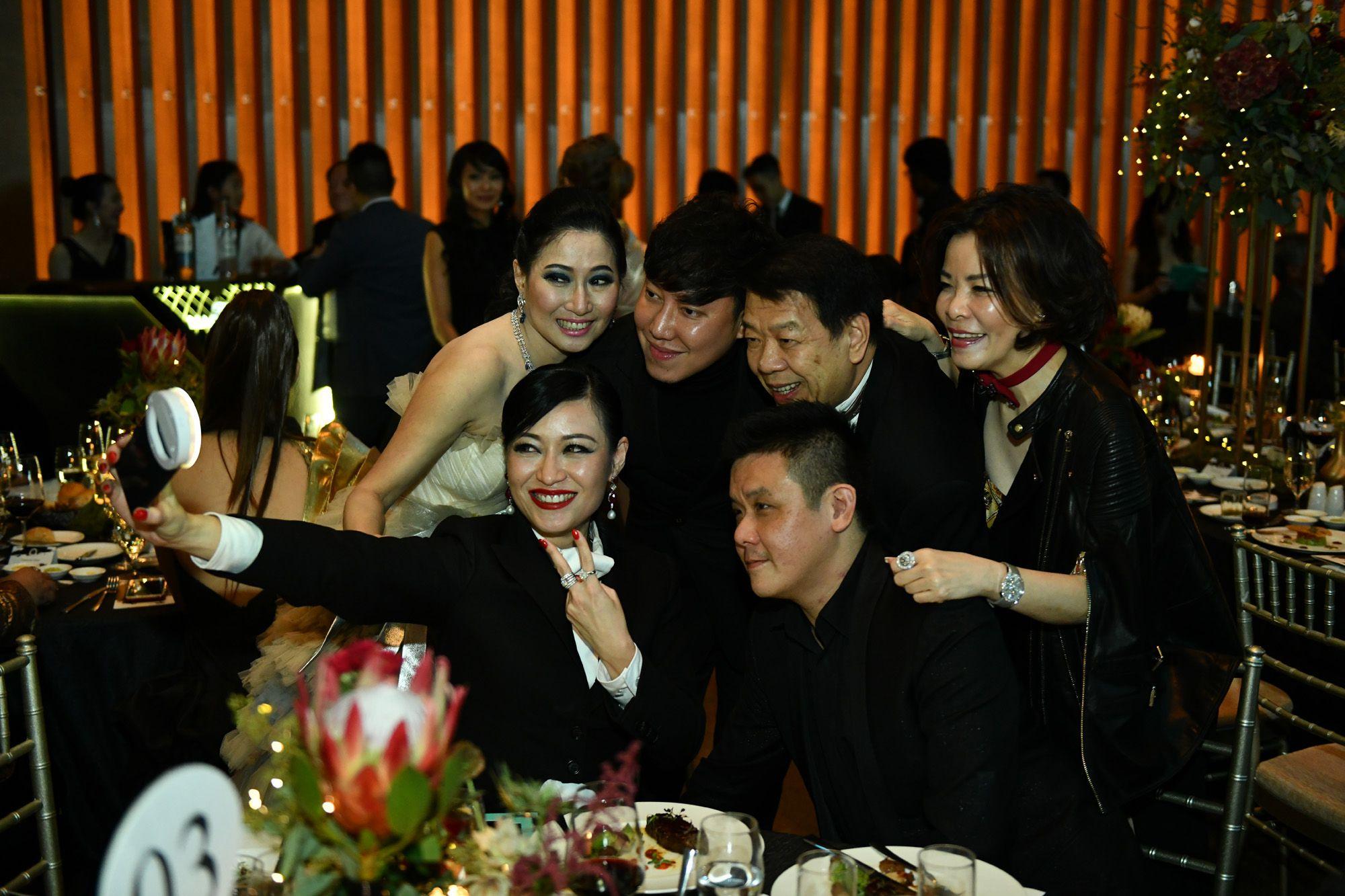 Tan Khar Nai, Desmond Lim, Tan Kong King, Grace Wong, Eddie Ng, Nina Ng