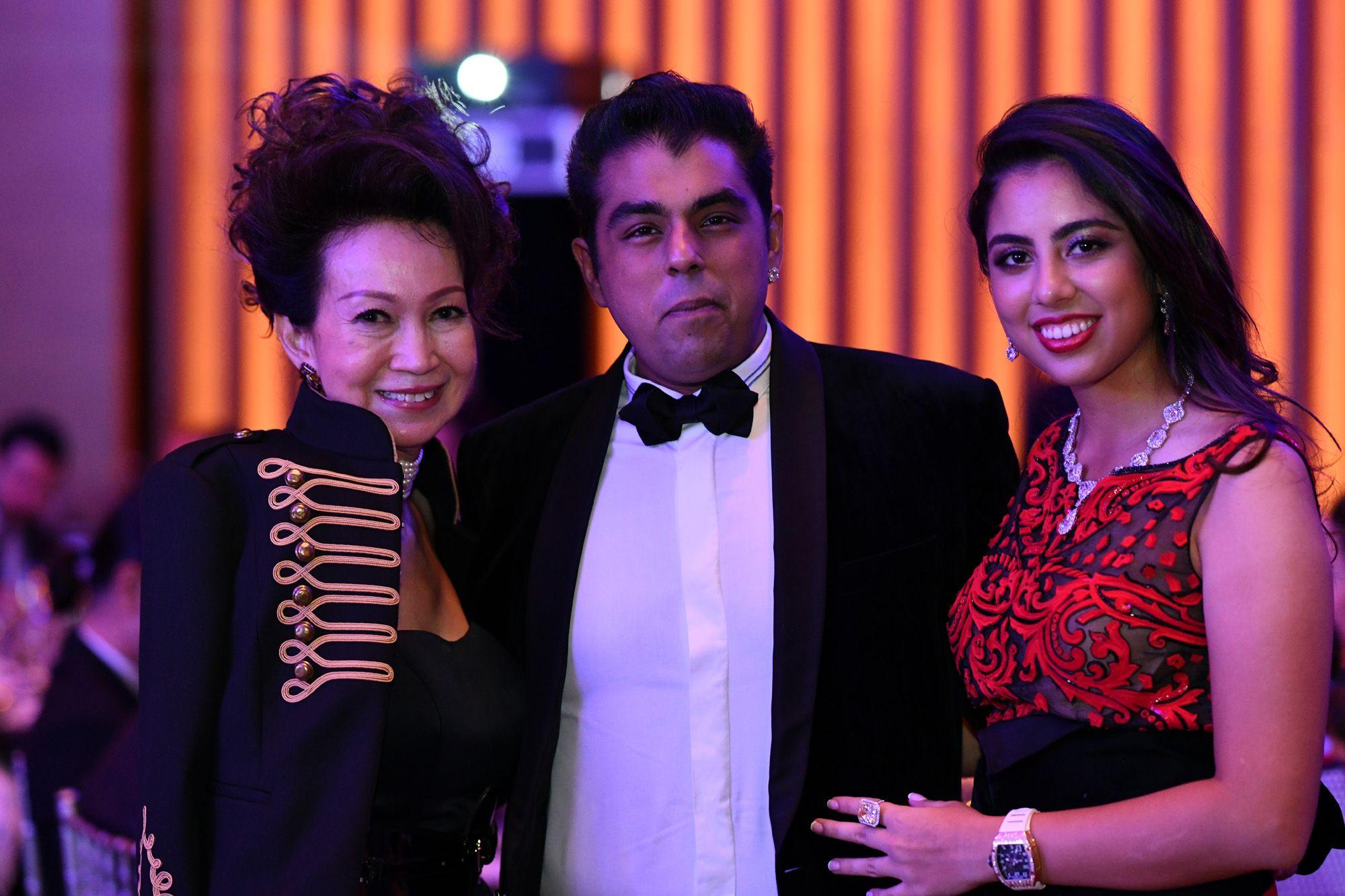 Celeste Basapa, Bobby Hiranandani, Shaila Hiranandani