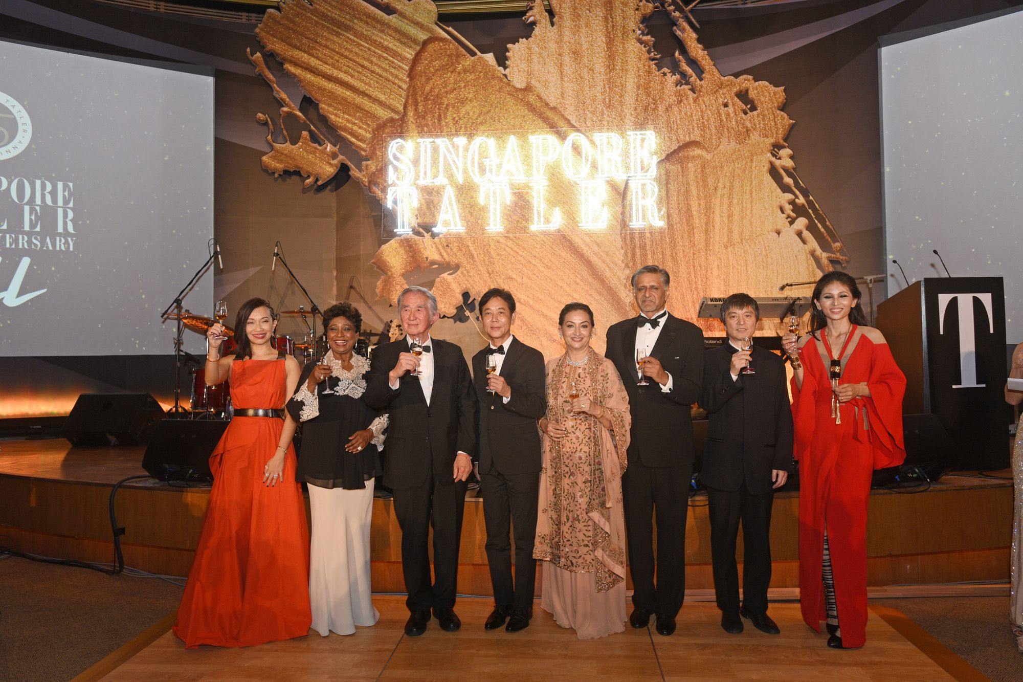 Corinne Ng, Noor Quek, Liu Thai Ker, George Quek, Maniza Jumabhoy, Iqbal Jumabhoy, Lan Shui, Karen Ong-Tan