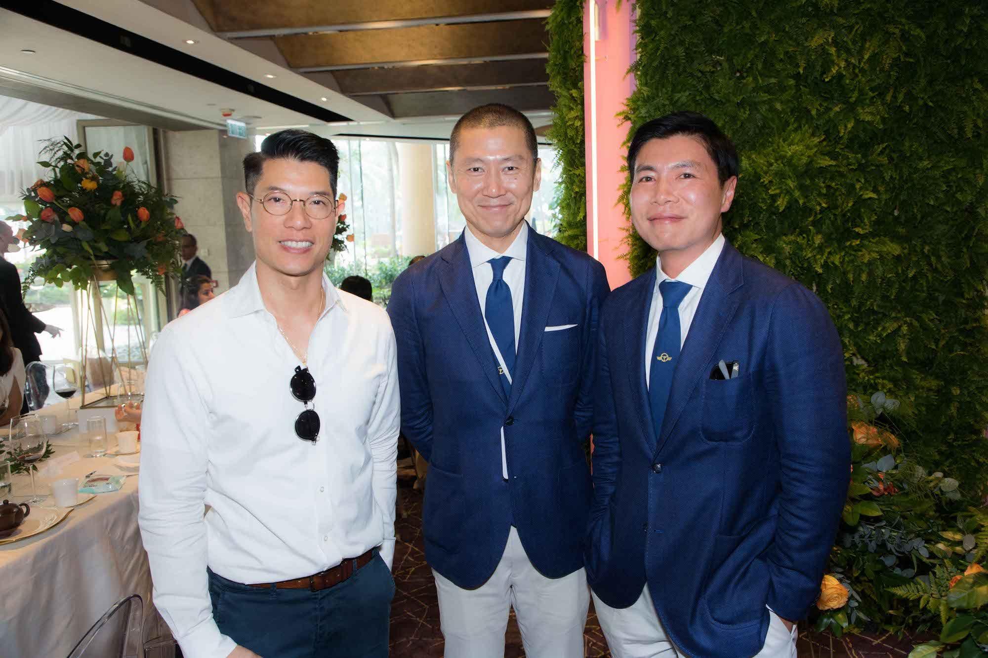 Benjamin Lau, Frank Yu, Douglas Young