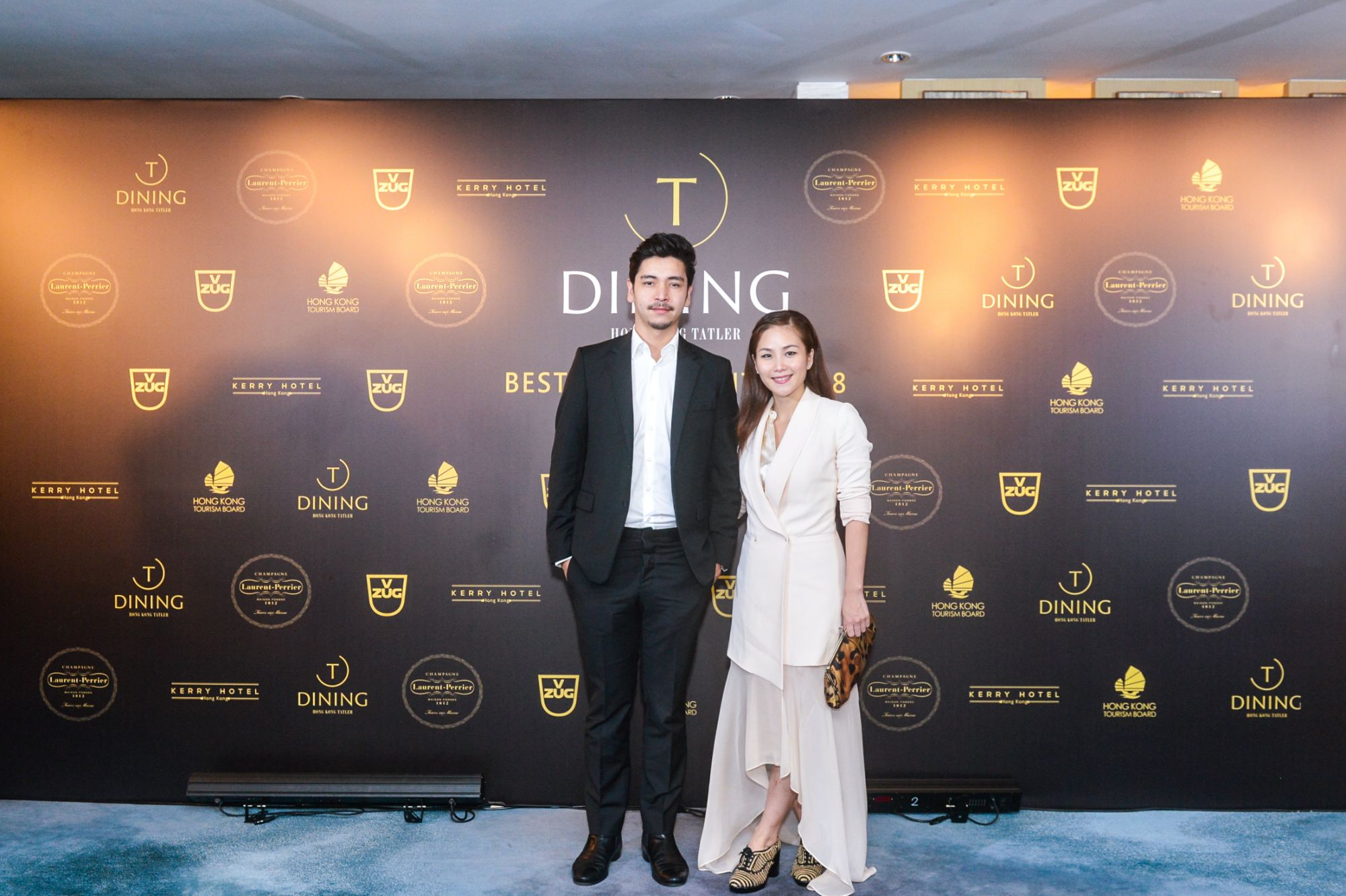 Robert Ho and Vicky Lau