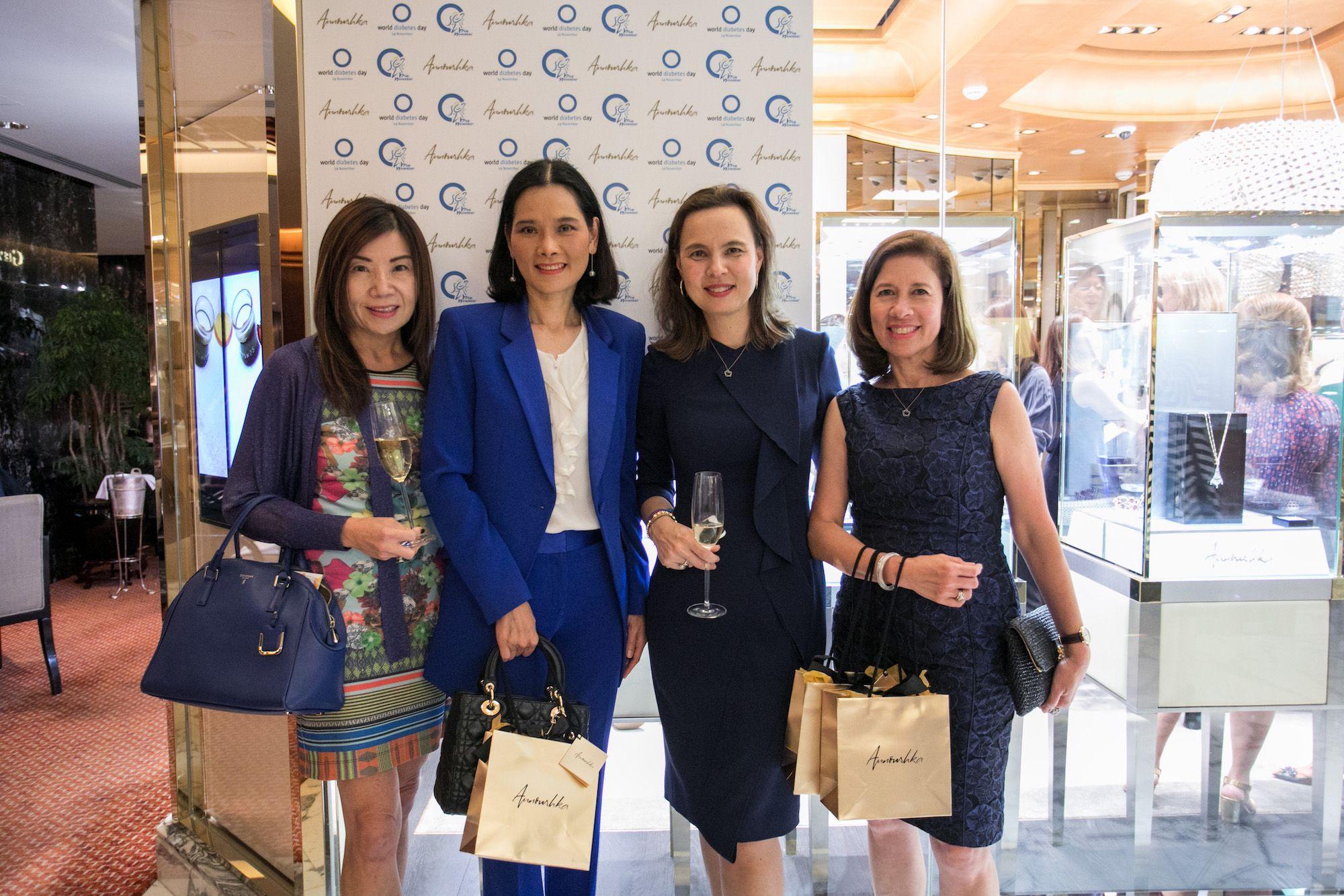 Esther Ma, Joy Slosar, Joanna Hotung, Carmen Beaves