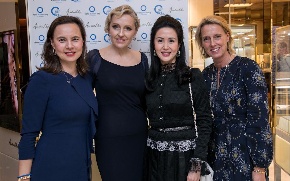 Joanna Hotung, Lianne Lam, Olga Roh, Annoushka Ducas