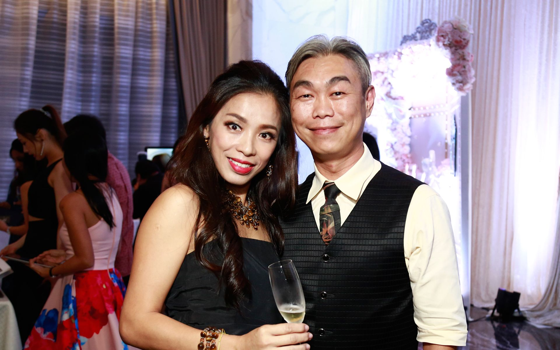 Jessica Chai and Chow Chee Song