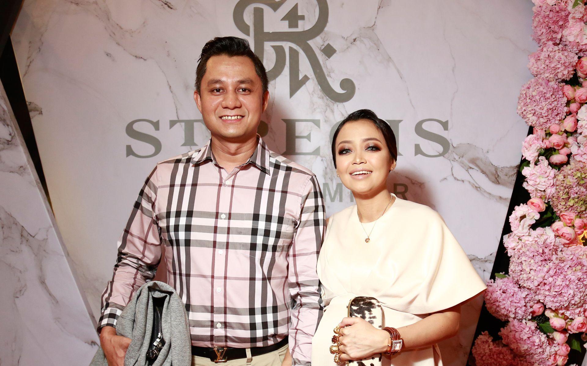 Shahriman Tan Sri Abdullah and Dato' Nadia Marni Shahriman