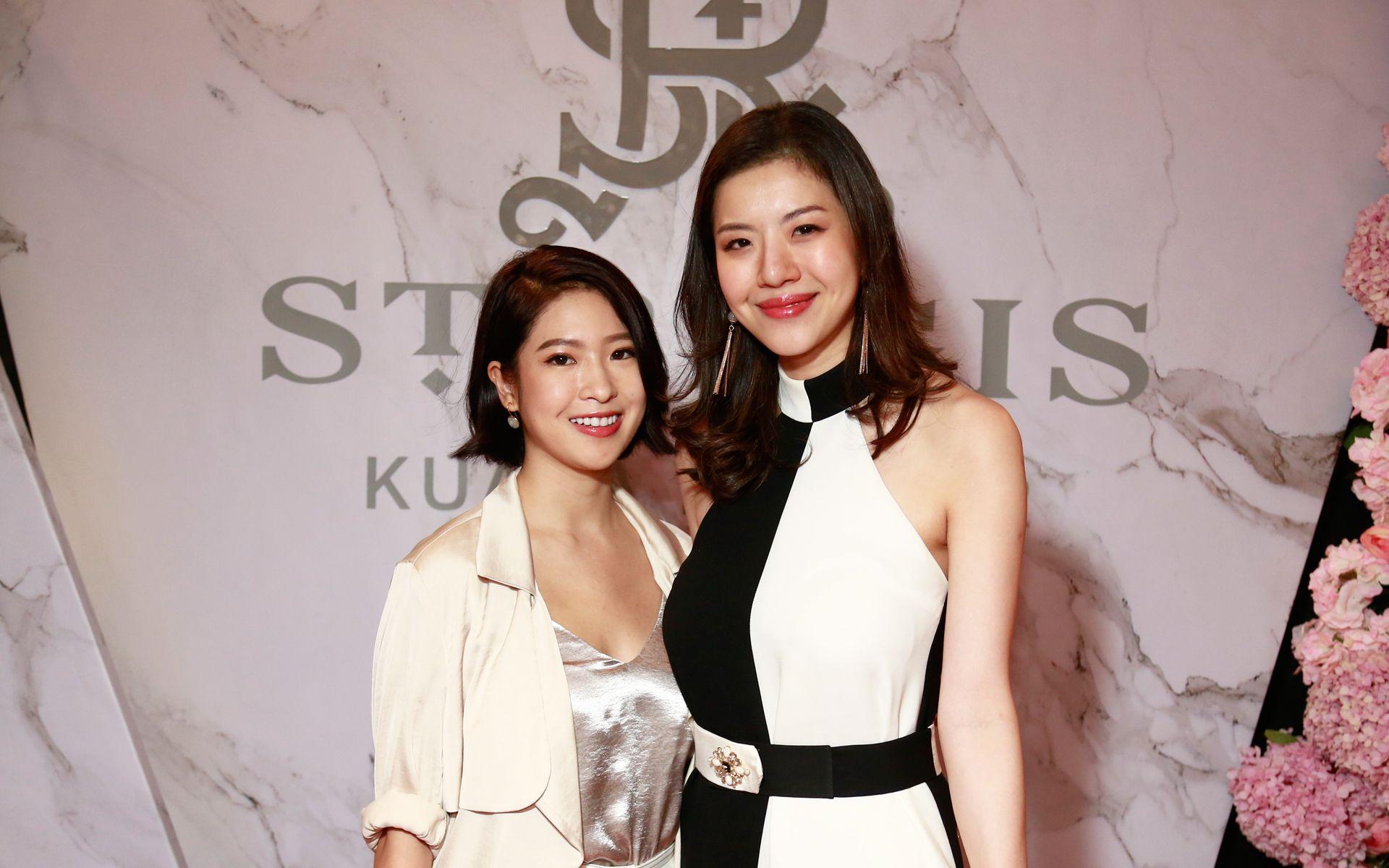 Bella Kuan and Su-Quinn Teh