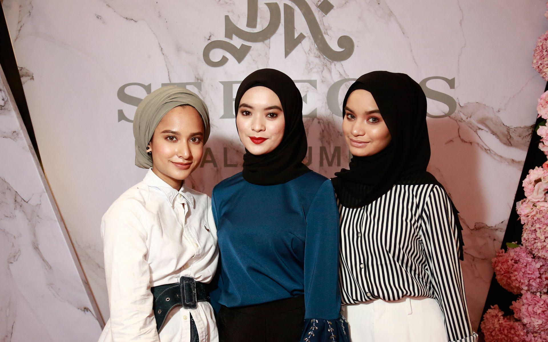 Zara Mohd Shaidin, Nik Amanda and Nik Amanie