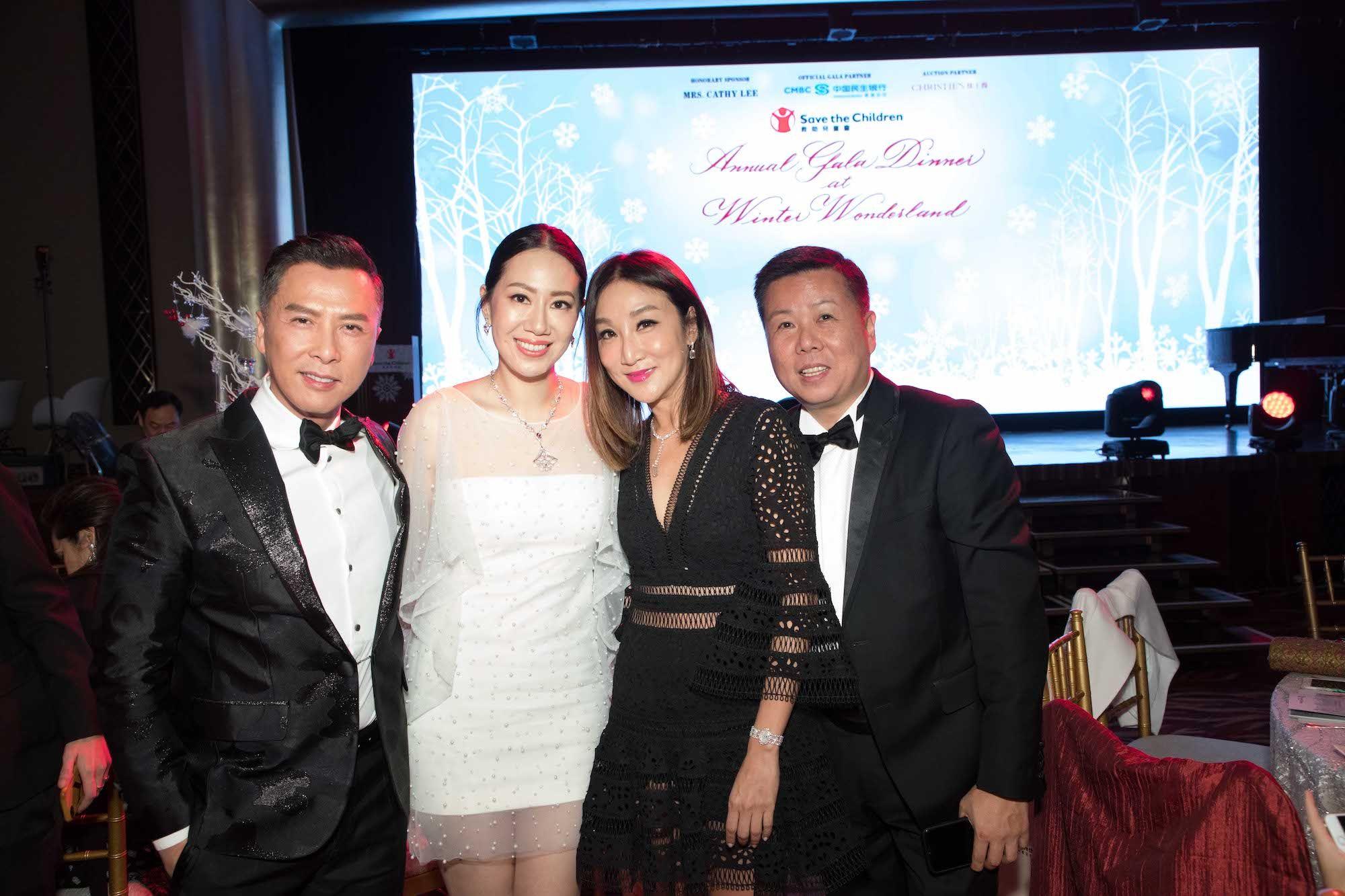 Donnie Yen, Cissy Wang, Jane Louey, James Louey