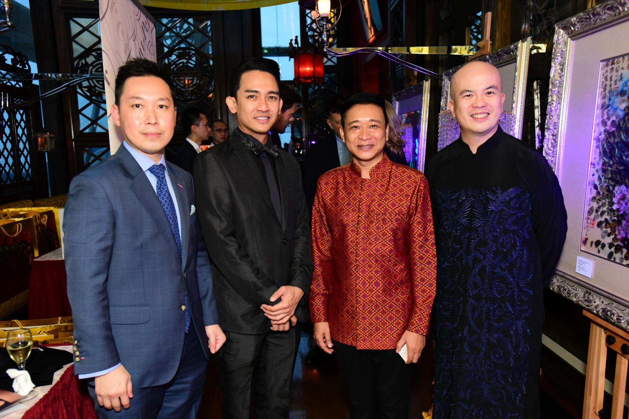 Nigel Chua, Manatase Annawat, Prince Sisowath Tesso, Yun Long Zi