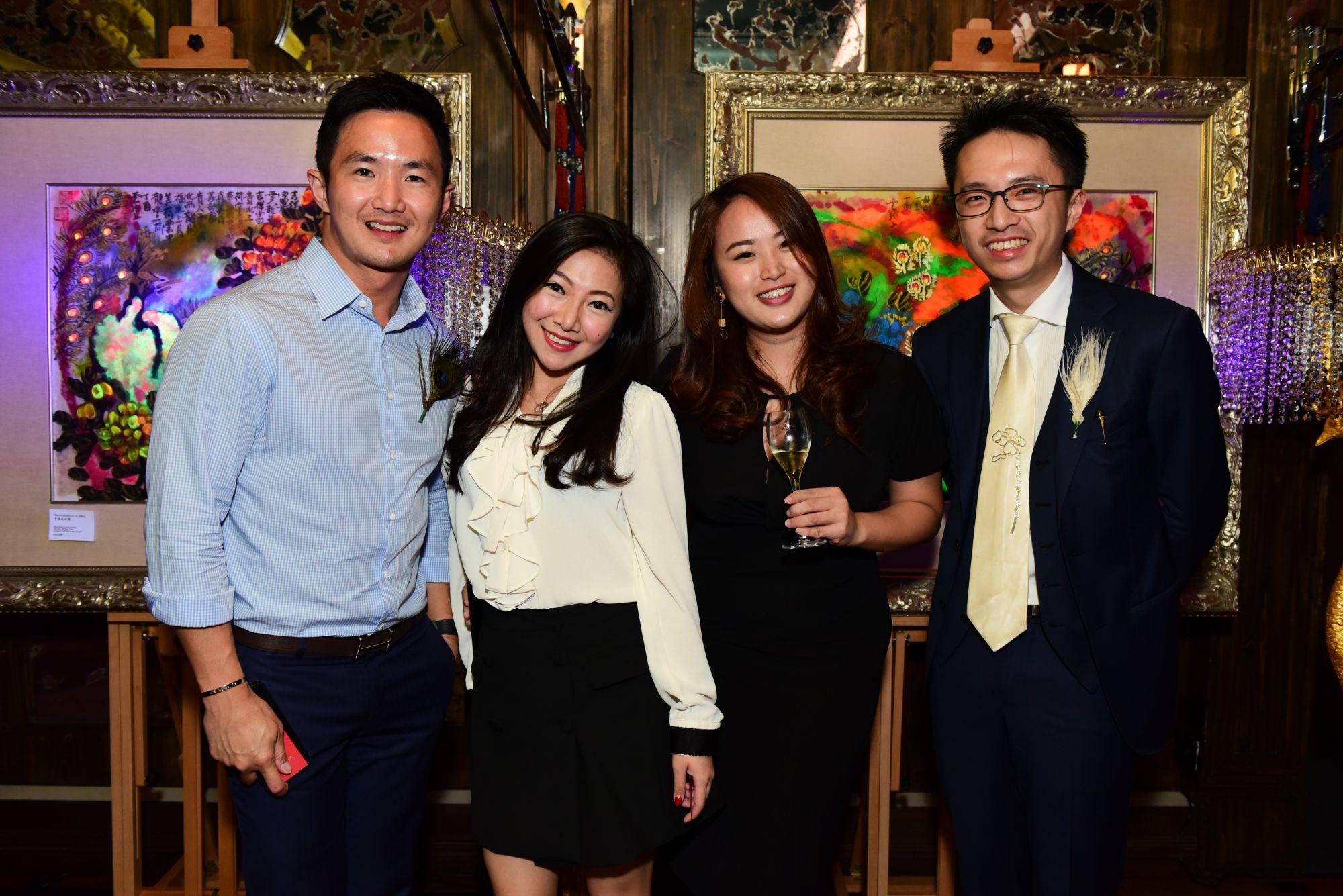 Jeremy Lai, Marissa Wang, Janell Kwek, Kan Ying Loong