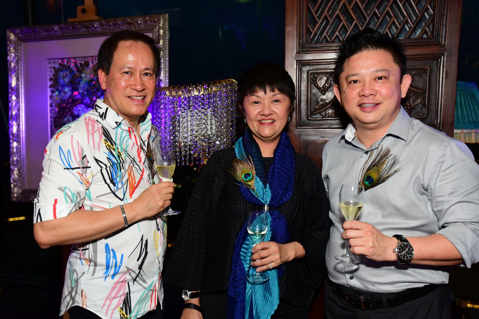 Richard Tan, Diana Wee, Lim Swee Hoe
