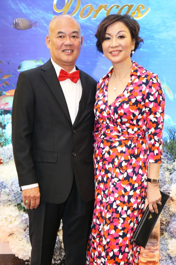 Lau Eng Liang and Stephanie Pang
