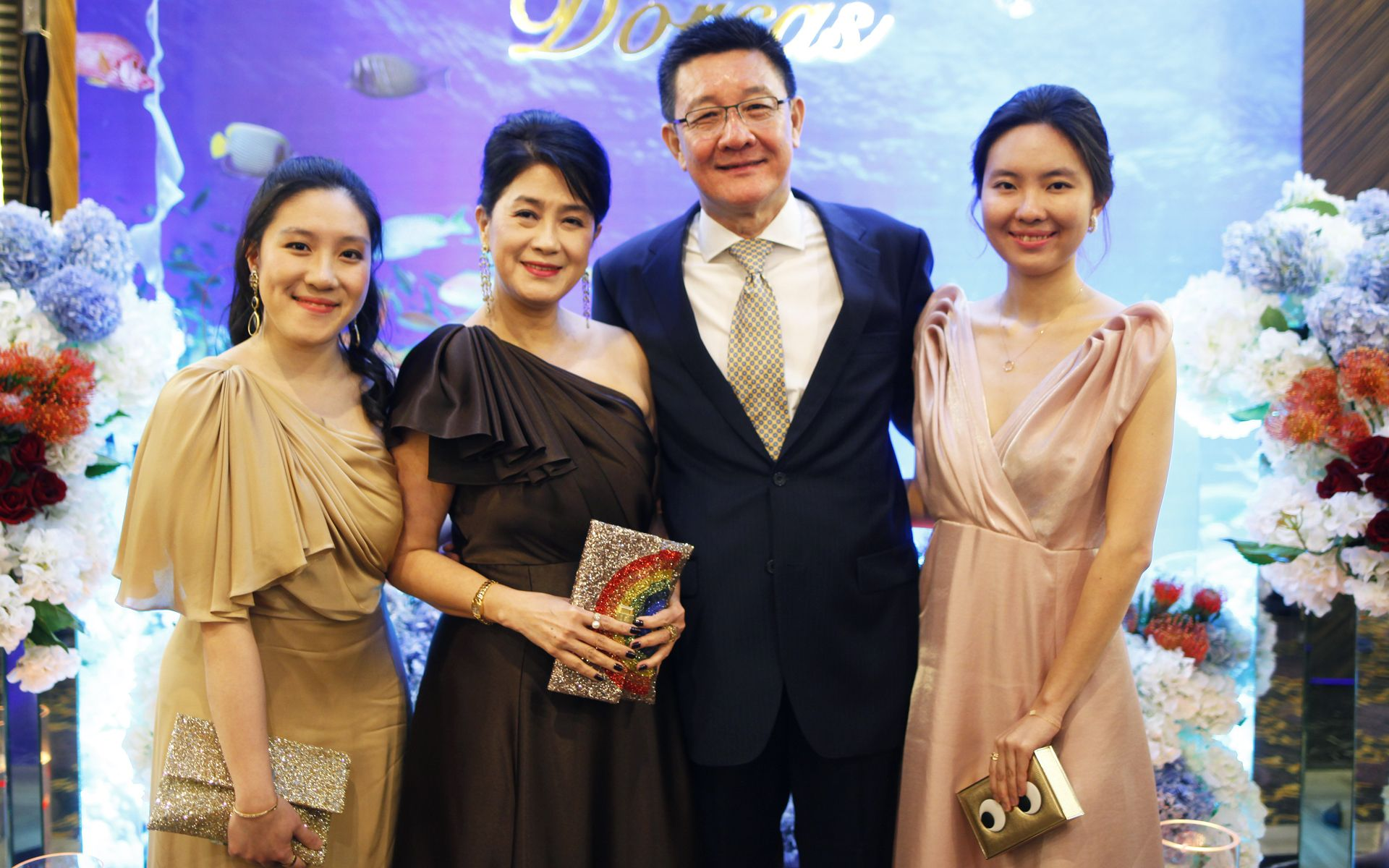 Teh Wen Li, Soo Shea Pin, Terrence Teh and Teh Wen Fei