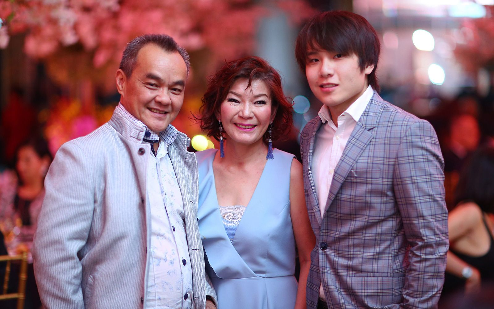 Dato Eric Ong, Datin Kate Siew and Daryl Ong