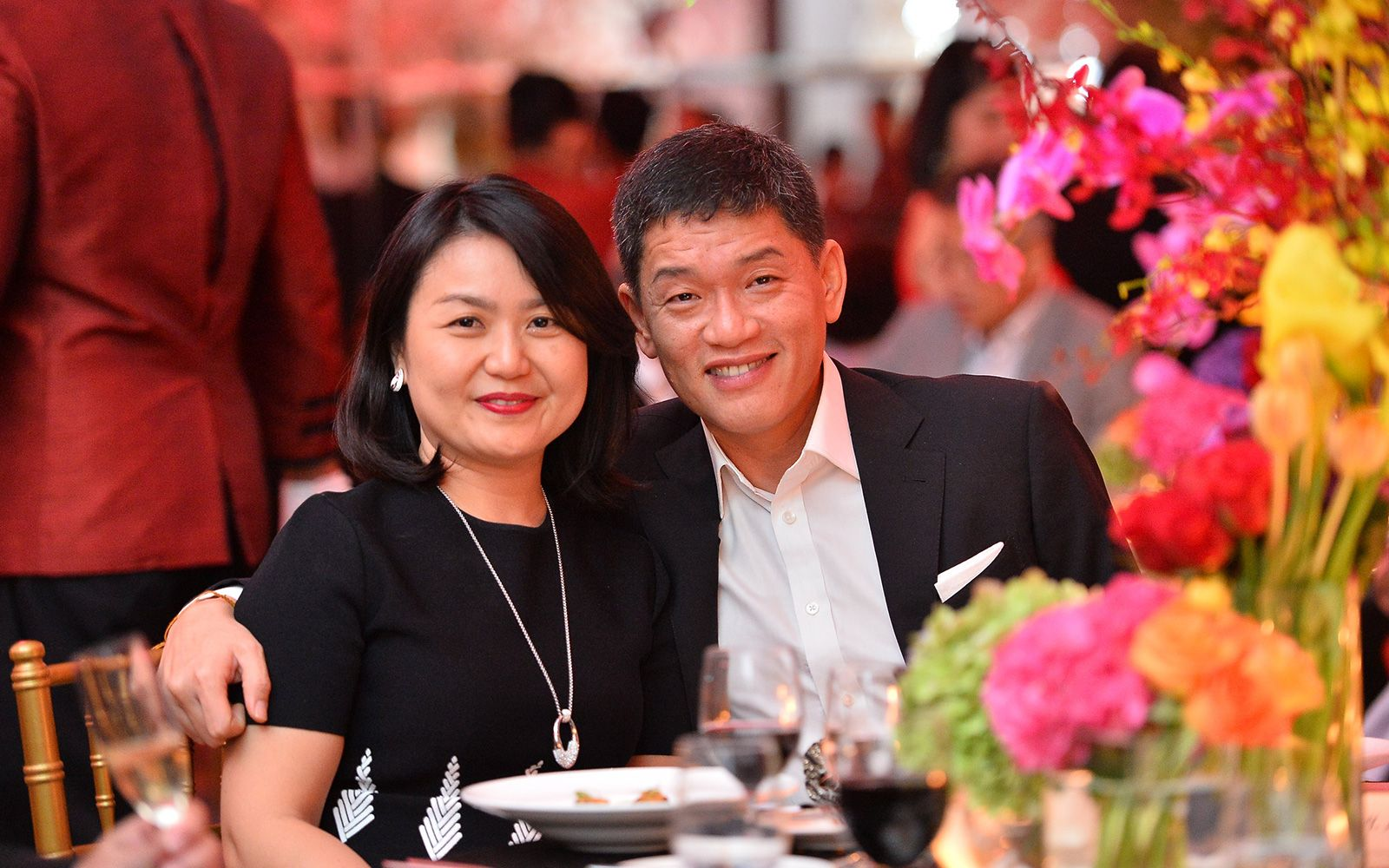 Jasmin Chuah and Lim Chee Wei