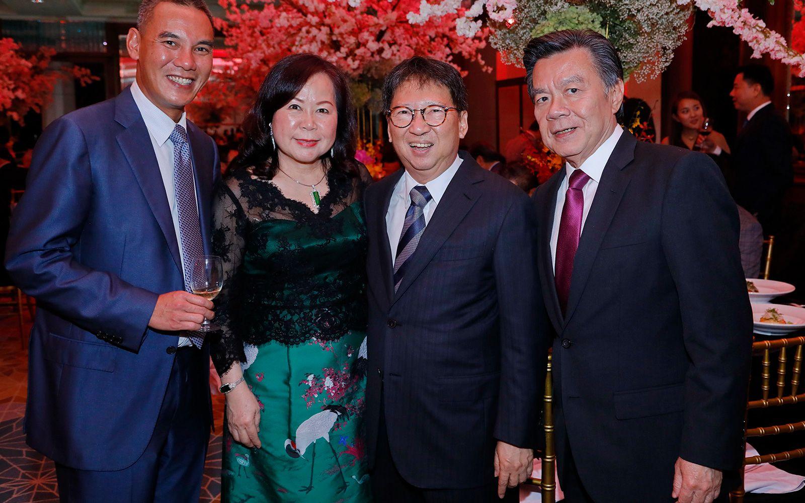 Jeremy Lim, Datin Teoh Siew Chin, Dato Chew Lak Seong and Victor Yu