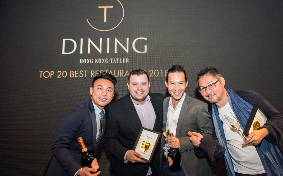 Vicky Cheng, Agustin Balbi, Nicholas Chew, David Lai