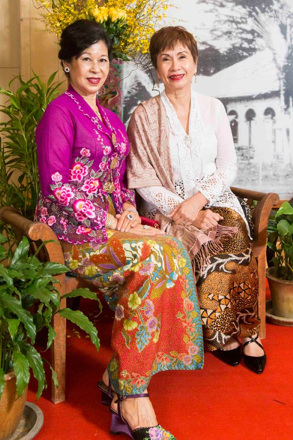 Datin Rose Chin and Dr Evelyn Khor