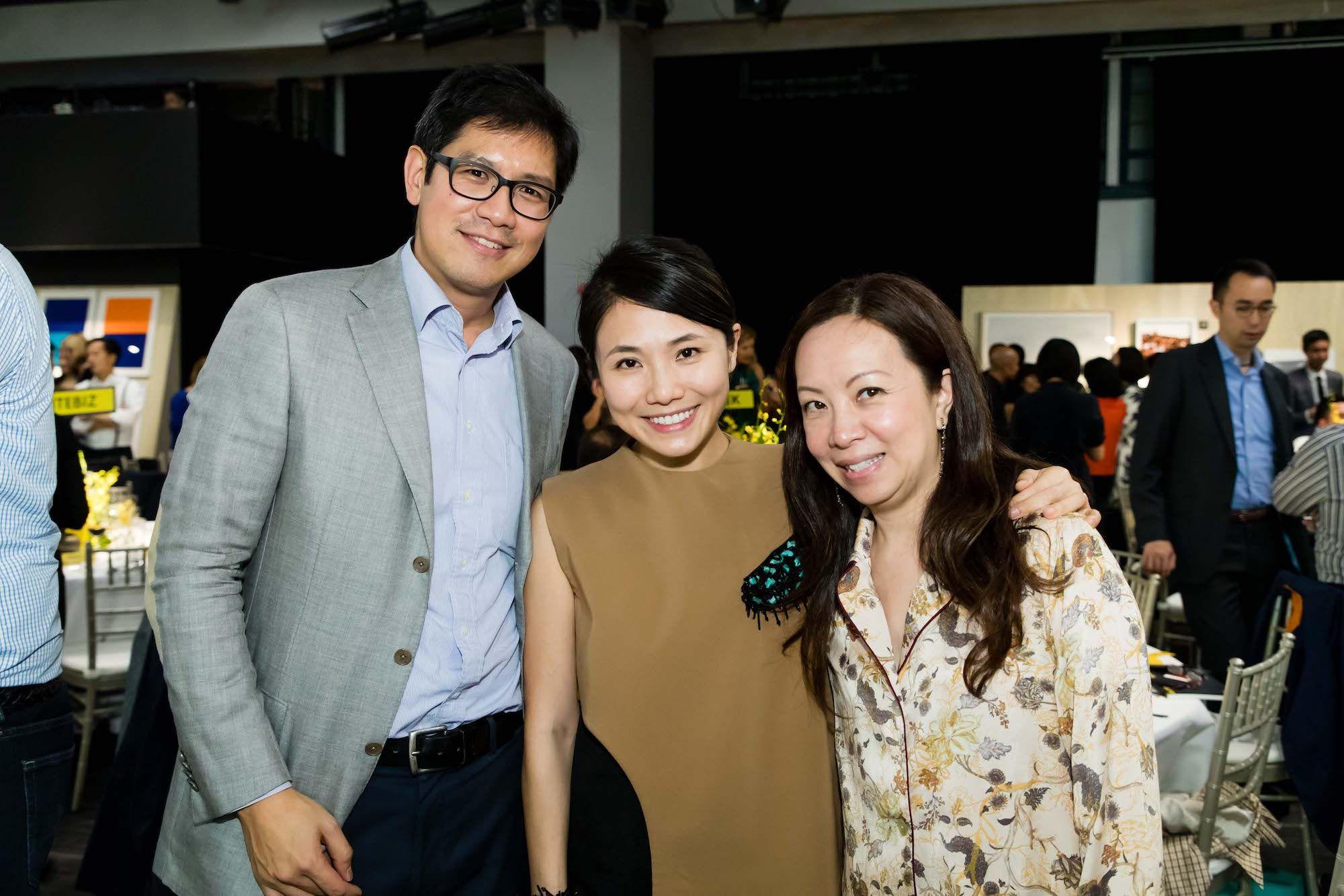 Akarin Gaw, Mimi Chun-Gradel, Cherry Chan