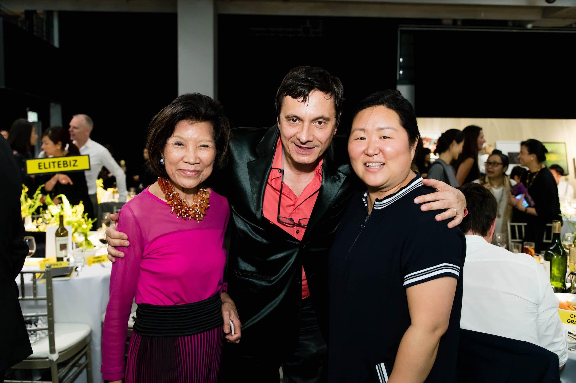 Kai-yin Lo, Fabio Rossi, Sook Kyung