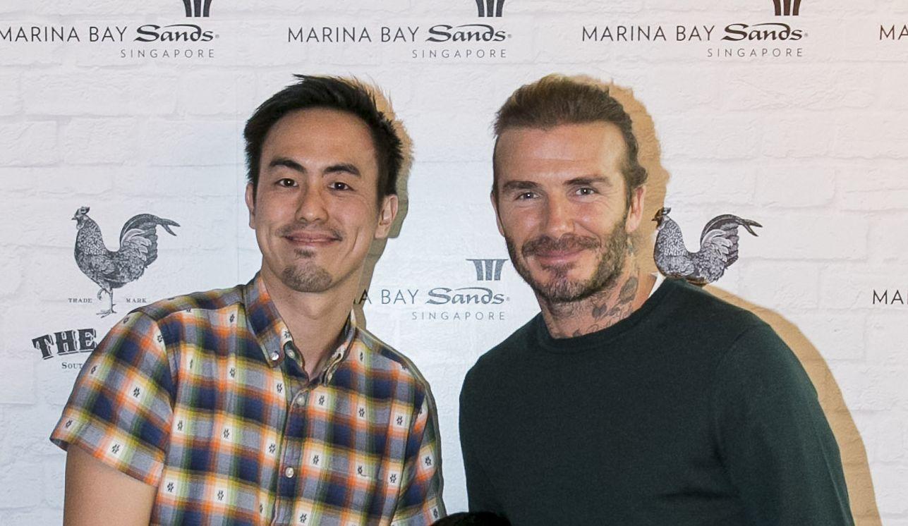 Terence Lim, David Beckham