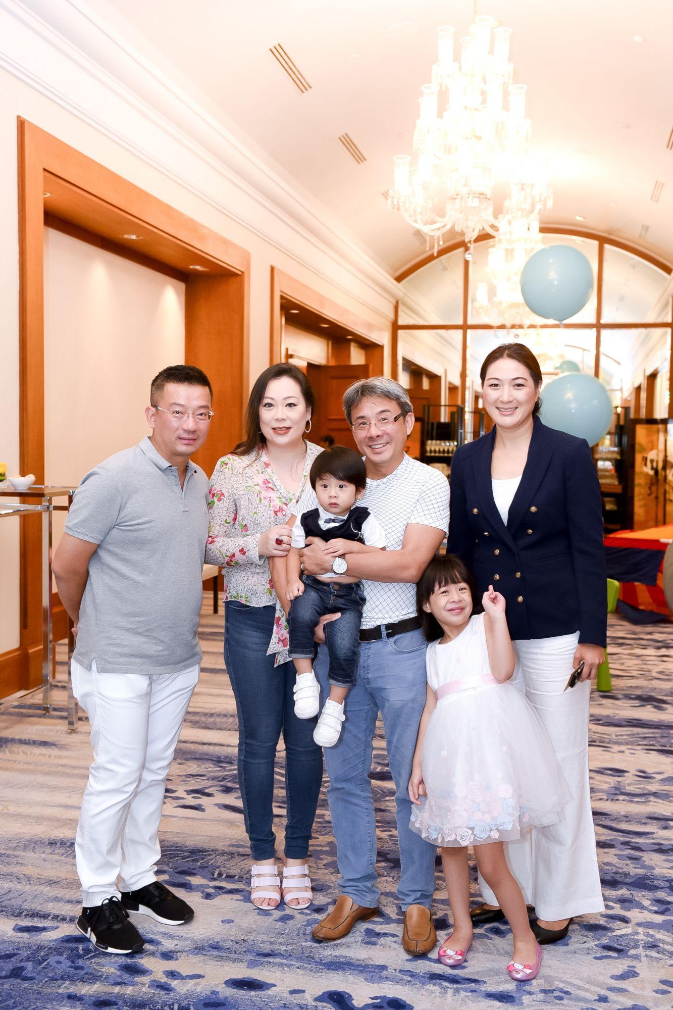 Edwin Chua, Cheryl Lee, Liam Quah, Quah Soon Hong, Lauren Quah, Nana Au-Chua