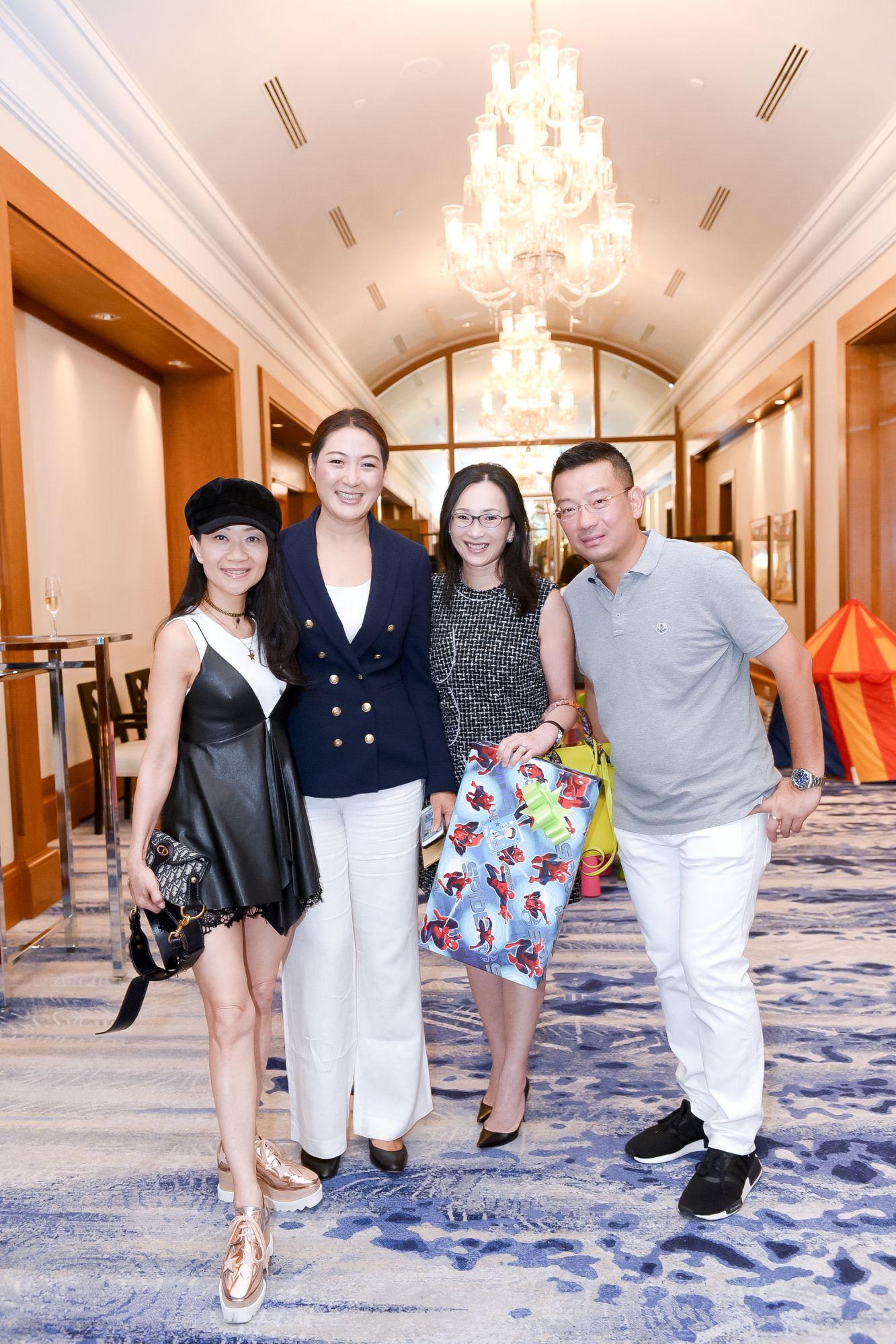 Dana Cheong, Nana Au-Chua, Caroline Low-Heah, Edwin Chua