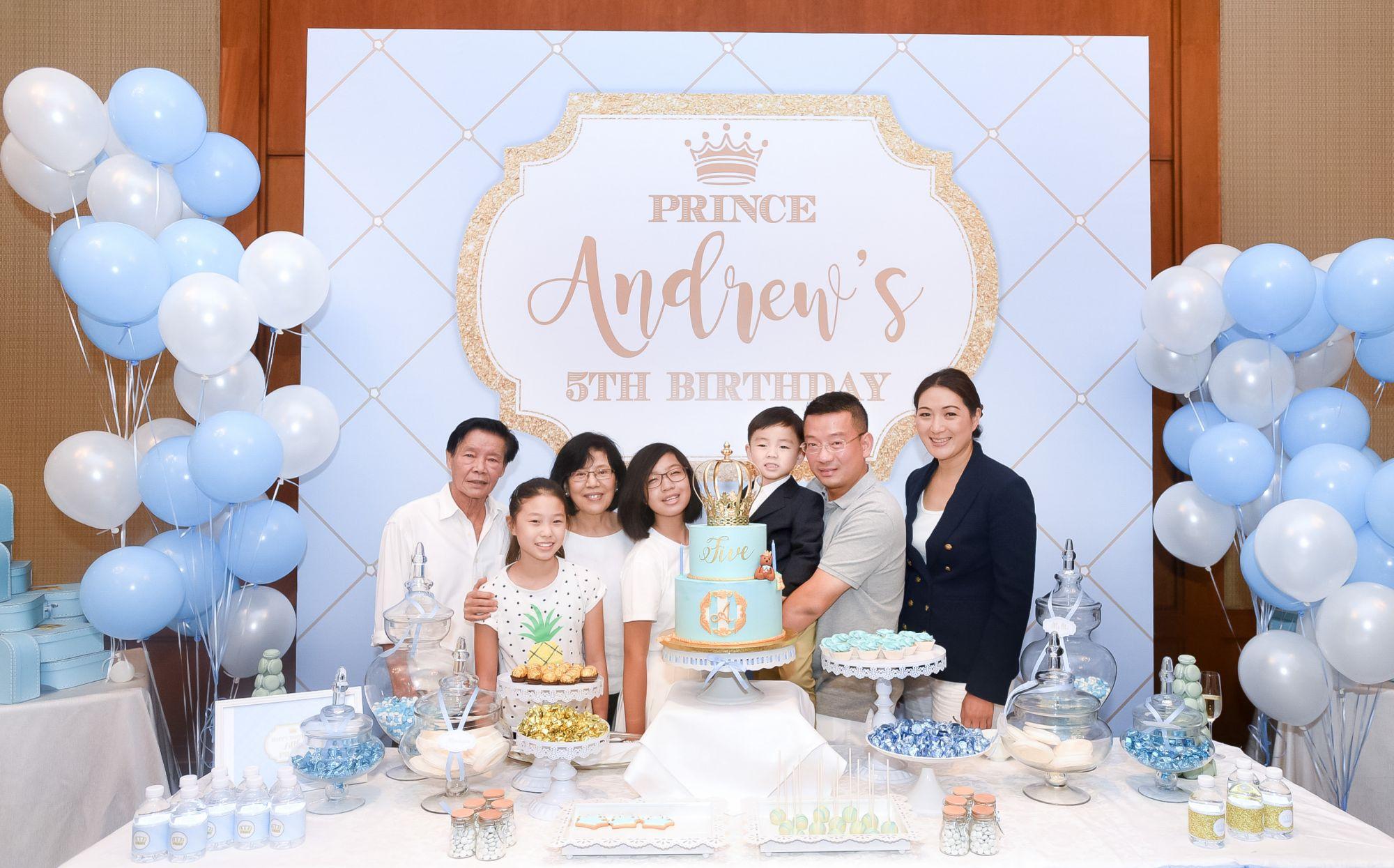 Chua Cheak Song, Charlotte Chua, Alice Chua, Melissa Chua, Andrew Chua, Edwin Chua, Nana Au-Chua