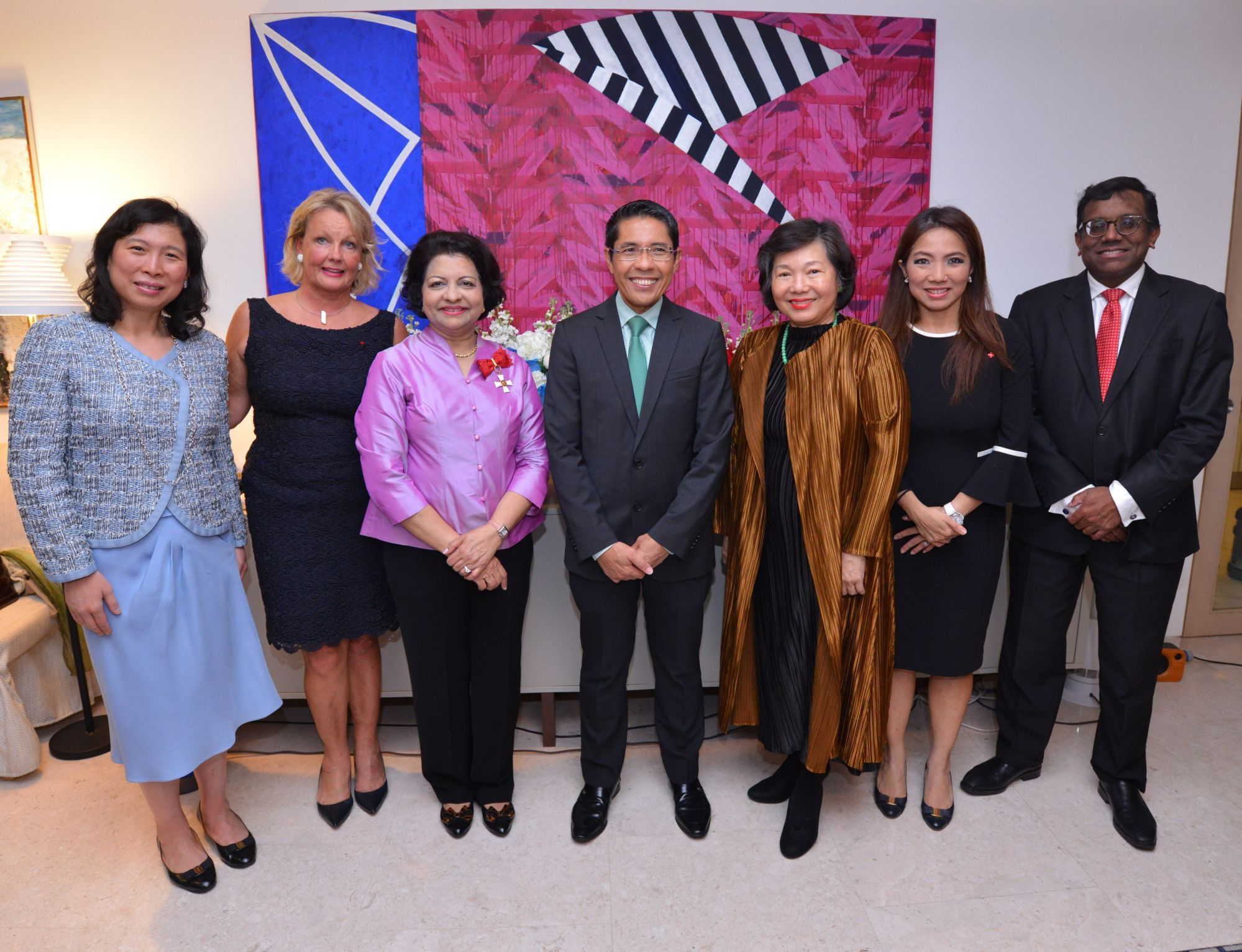 Michelle Liem, Paula Parviainen, Jaya Mohideen, Mohamed Maliki Bin Osman, Yu-Foo Yee Shoon, Tan Su Shan, Vinodh Coomaraswamy