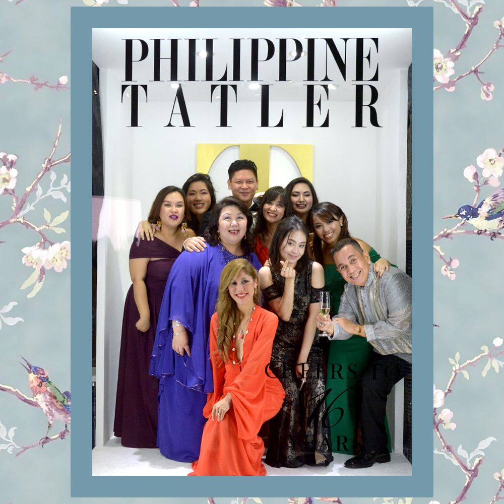 Philippine Tatler Team with Managing Director Irene Martel Francisco and Editor-in-Chief Anton San Diego