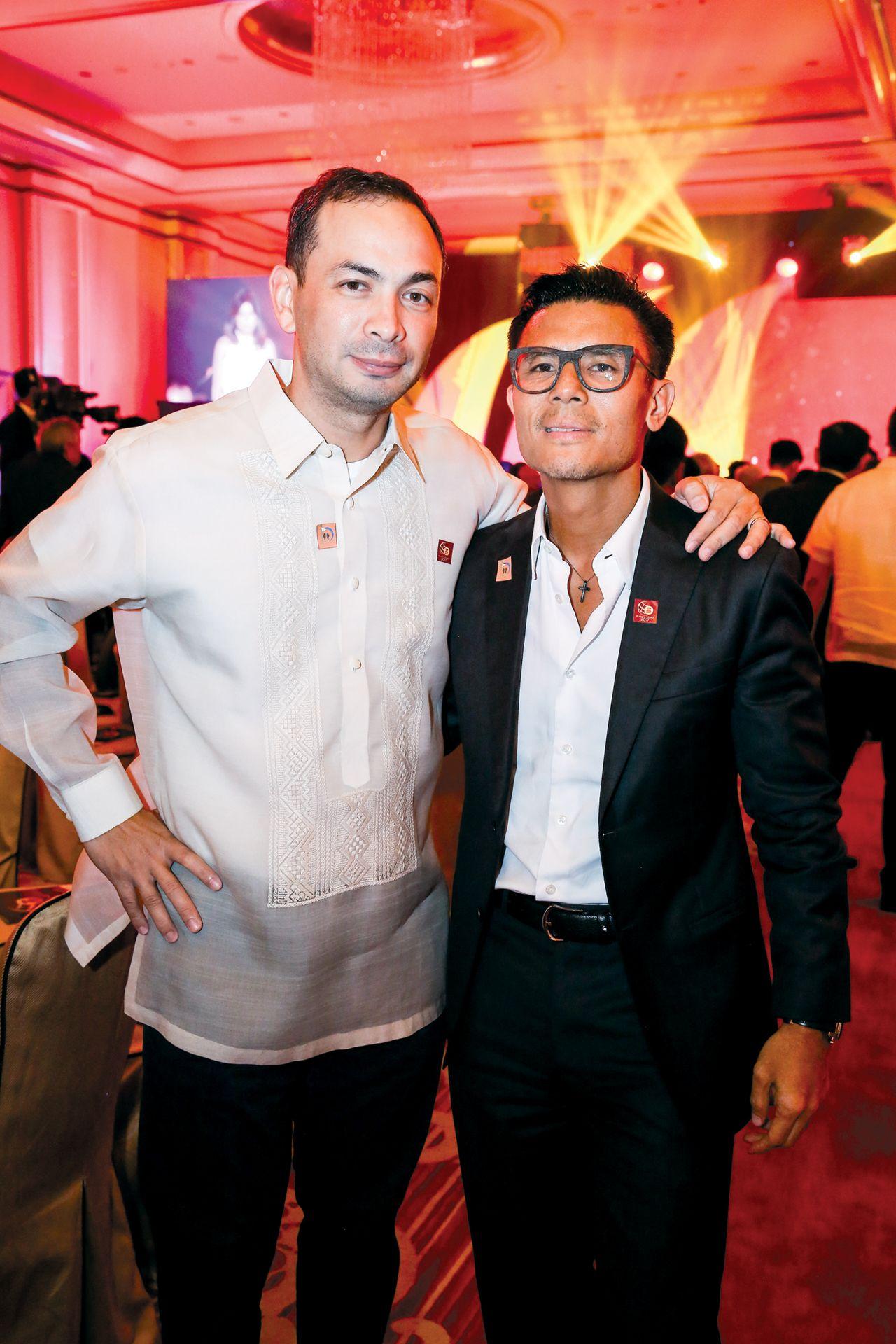 Ricky Delgado and Donnie Tantoco