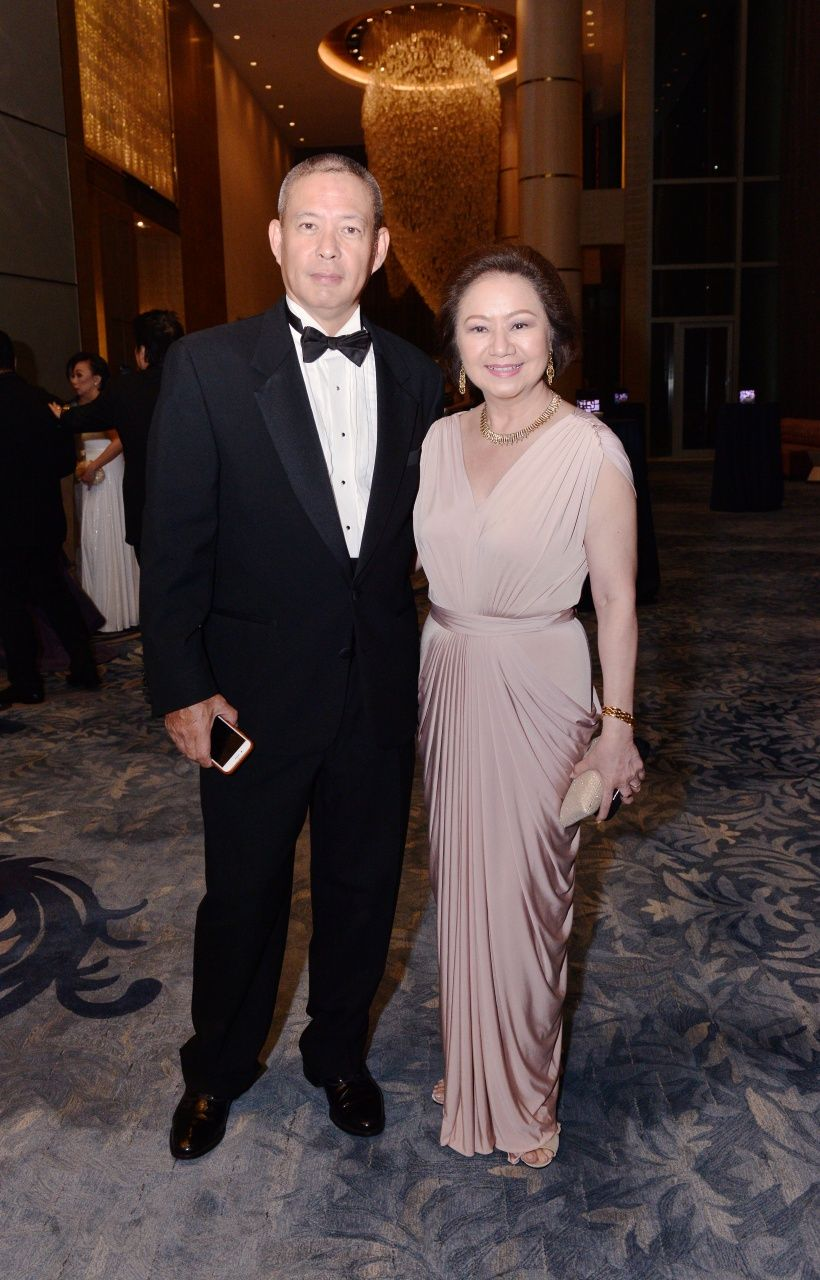 David Lim and Charisse Chuidian