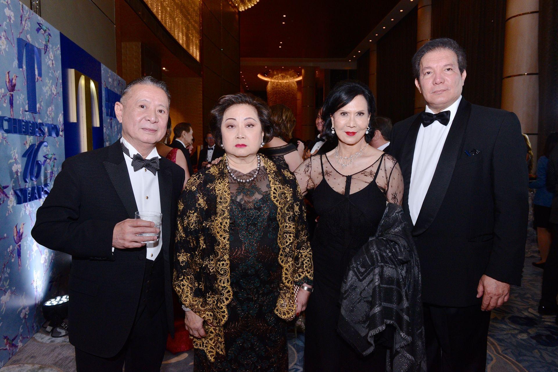 Mario Katigbak, Nedy Tantoco, Babette Aquino Benoit and Patrick Jacinto
