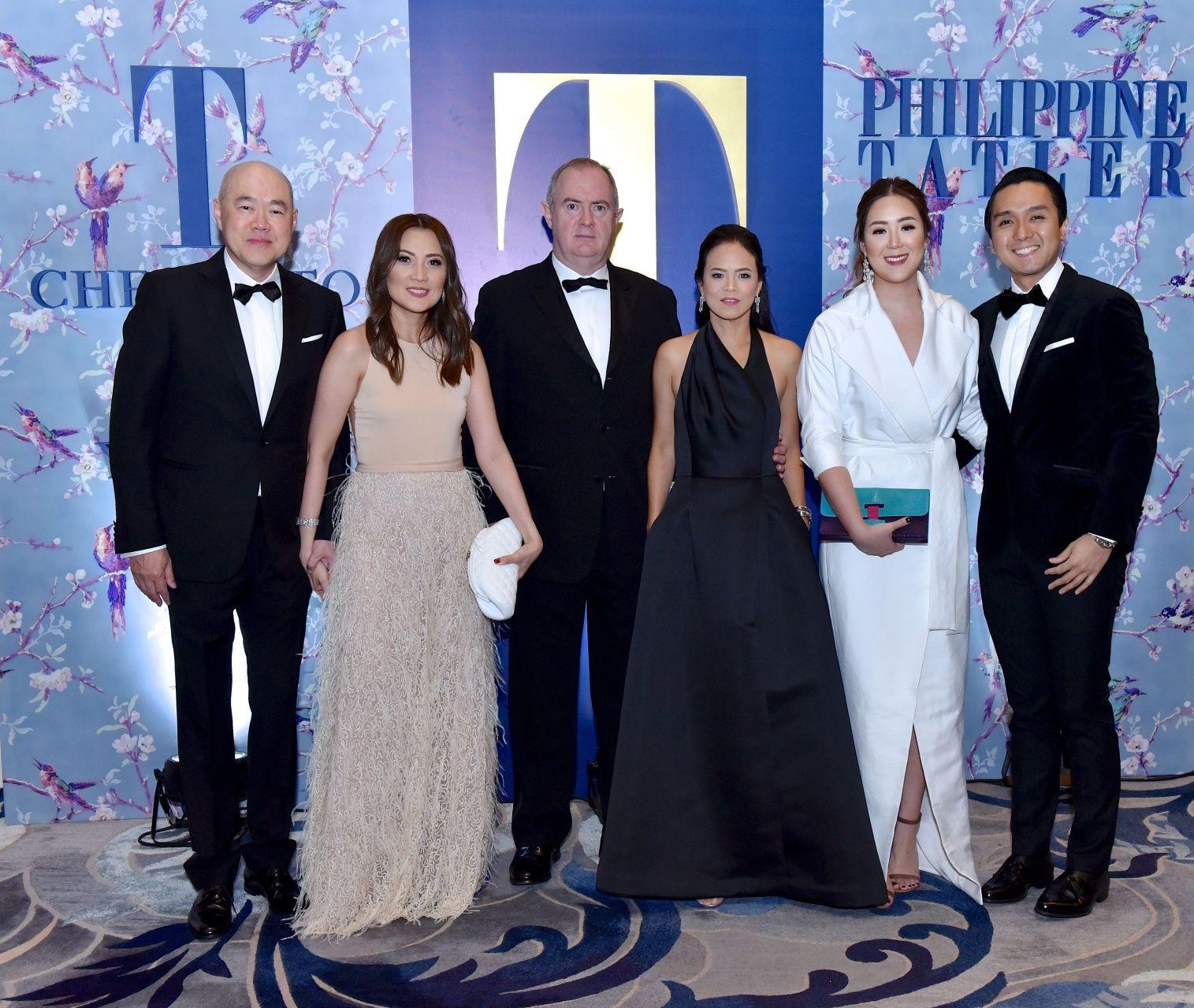 Felix and Grace Ang, Patty Ang and Miguel Almeda
