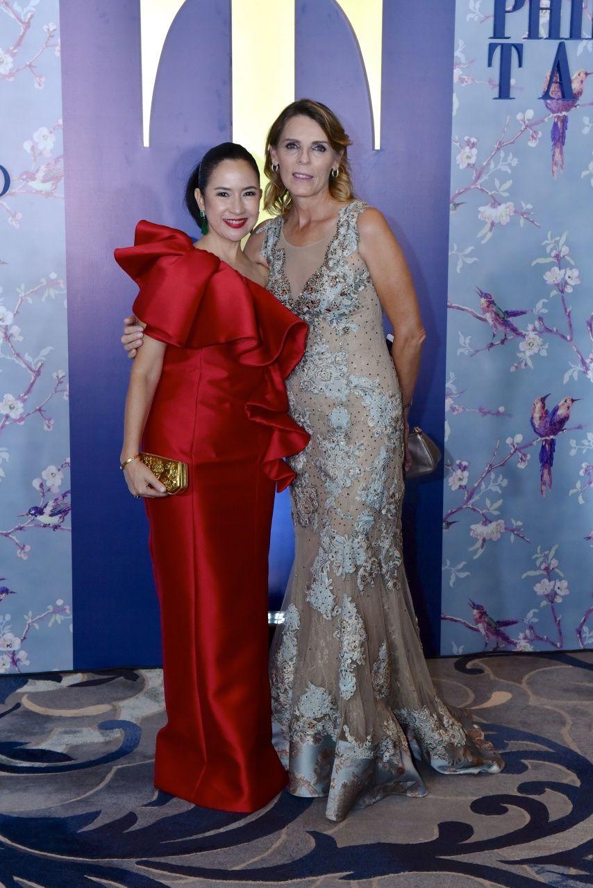 Mia Borromeo and Marit Yuchengco