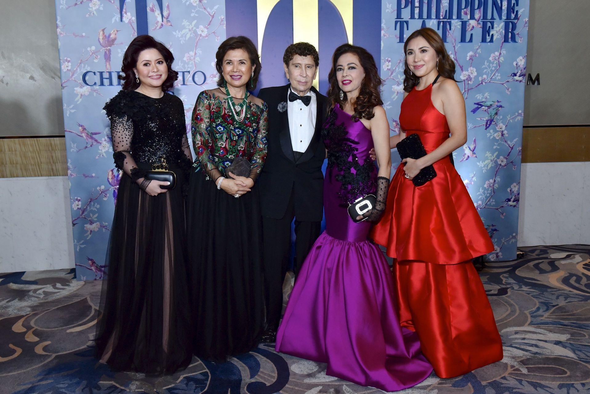 Carla Del Prado, Mariquita Yeung, Maurice Arcache, Mayenne Carmona and Carla Mckowen
