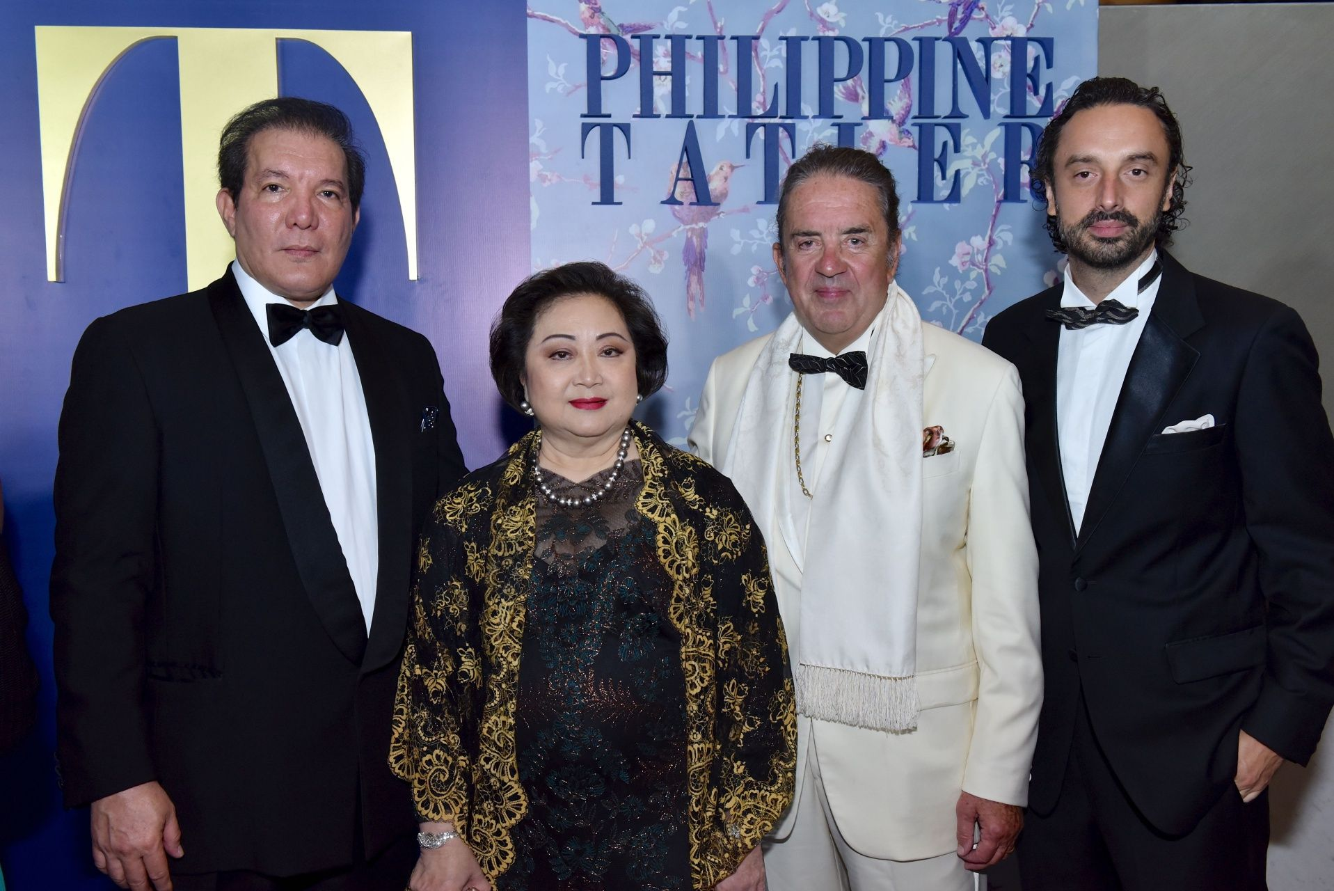 Patrick Jacinto, Nedy Tantoco, Philippe and Alexandre Chariol