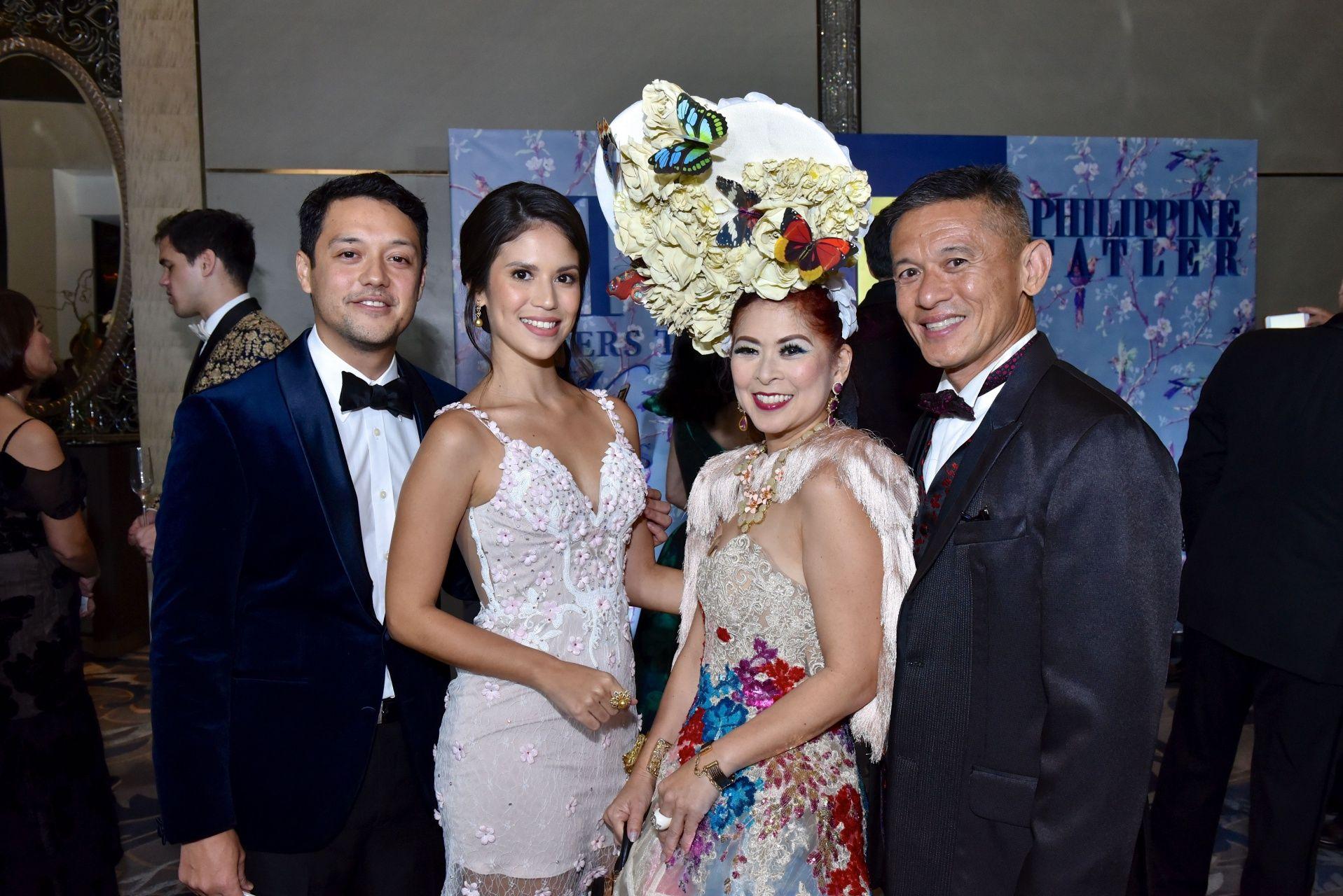 Martin De Guzman, Marion Branellec, Tessa and Dennis Valdez