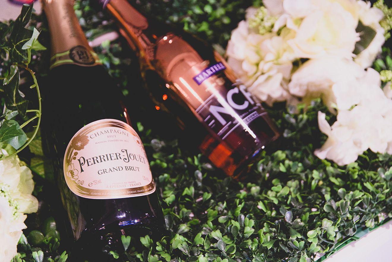 Perrier-Jouet香檳供貴賓無限享用