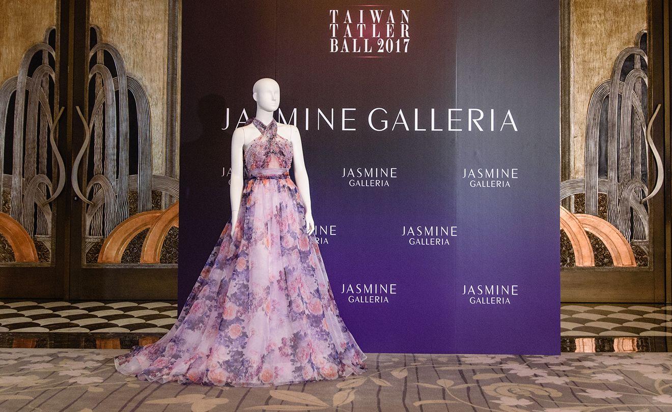 贊助商Jasmine Galleria展示禮服